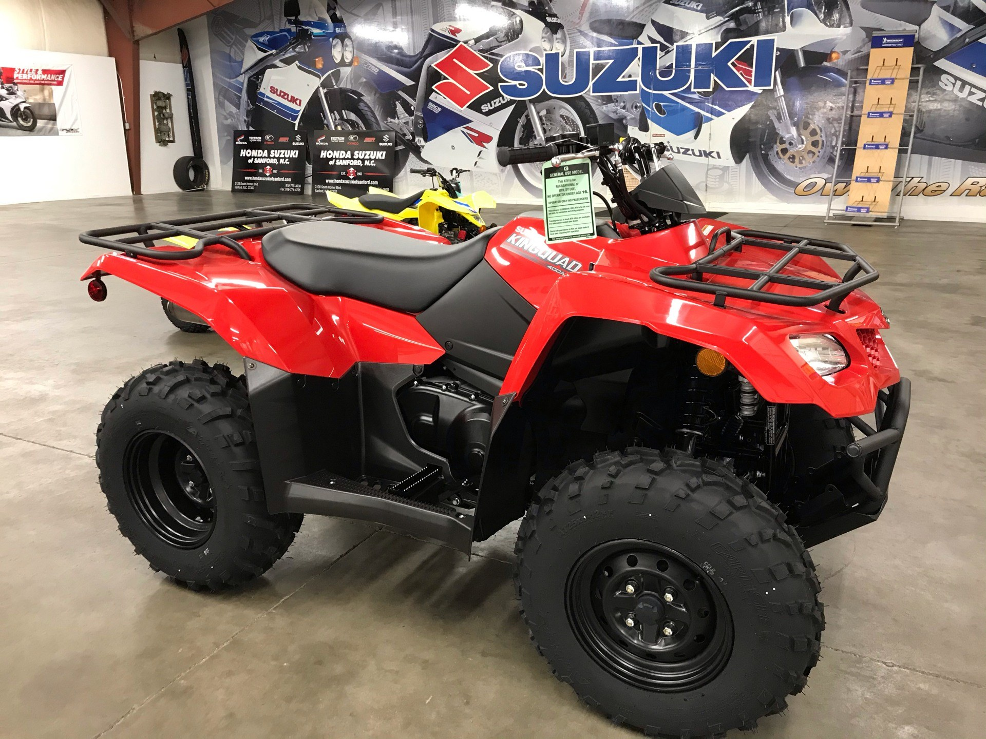 2021 Suzuki KingQuad 400ASi in Sanford, North Carolina - Photo 2