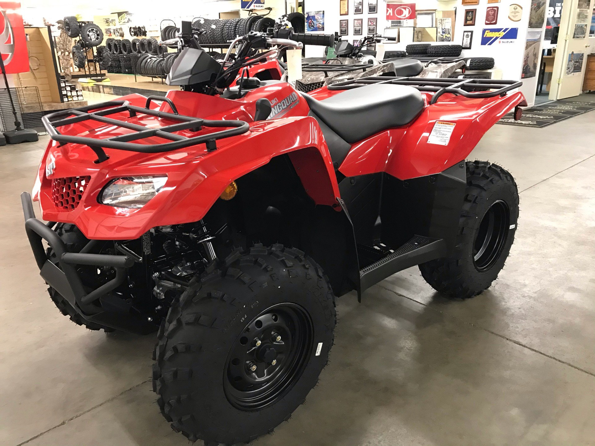 2021 Suzuki KingQuad 400ASi in Sanford, North Carolina - Photo 5