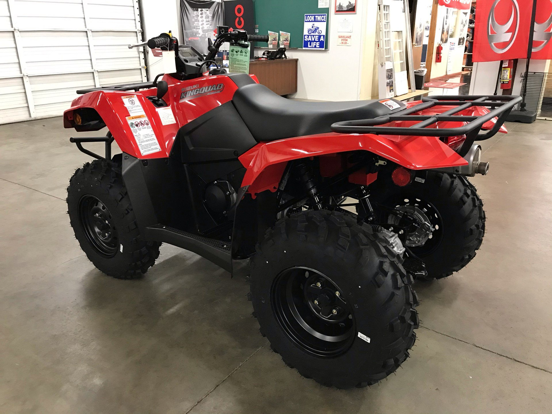 2021 Suzuki KingQuad 400ASi in Sanford, North Carolina - Photo 6