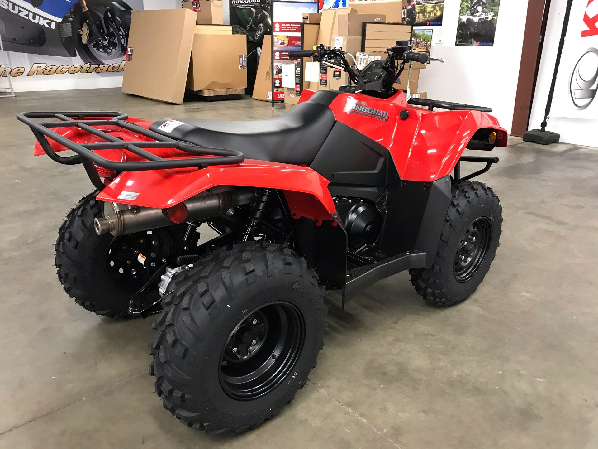 2021 Suzuki KingQuad 400ASi in Sanford, North Carolina - Photo 9