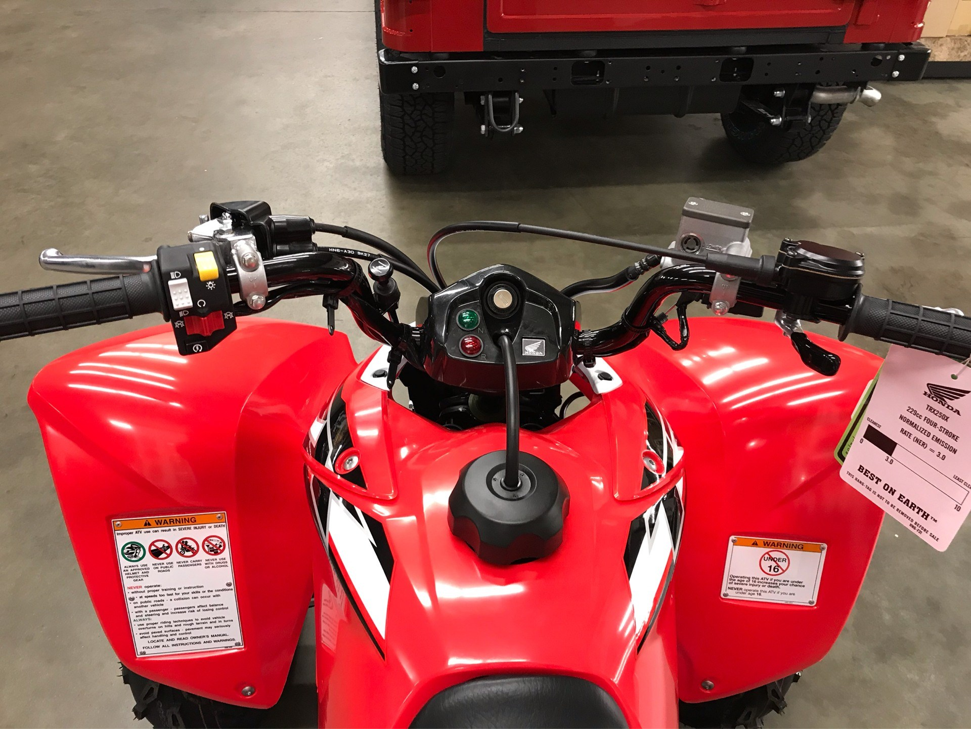 2020 Honda TRX250X in Sanford, North Carolina - Photo 12