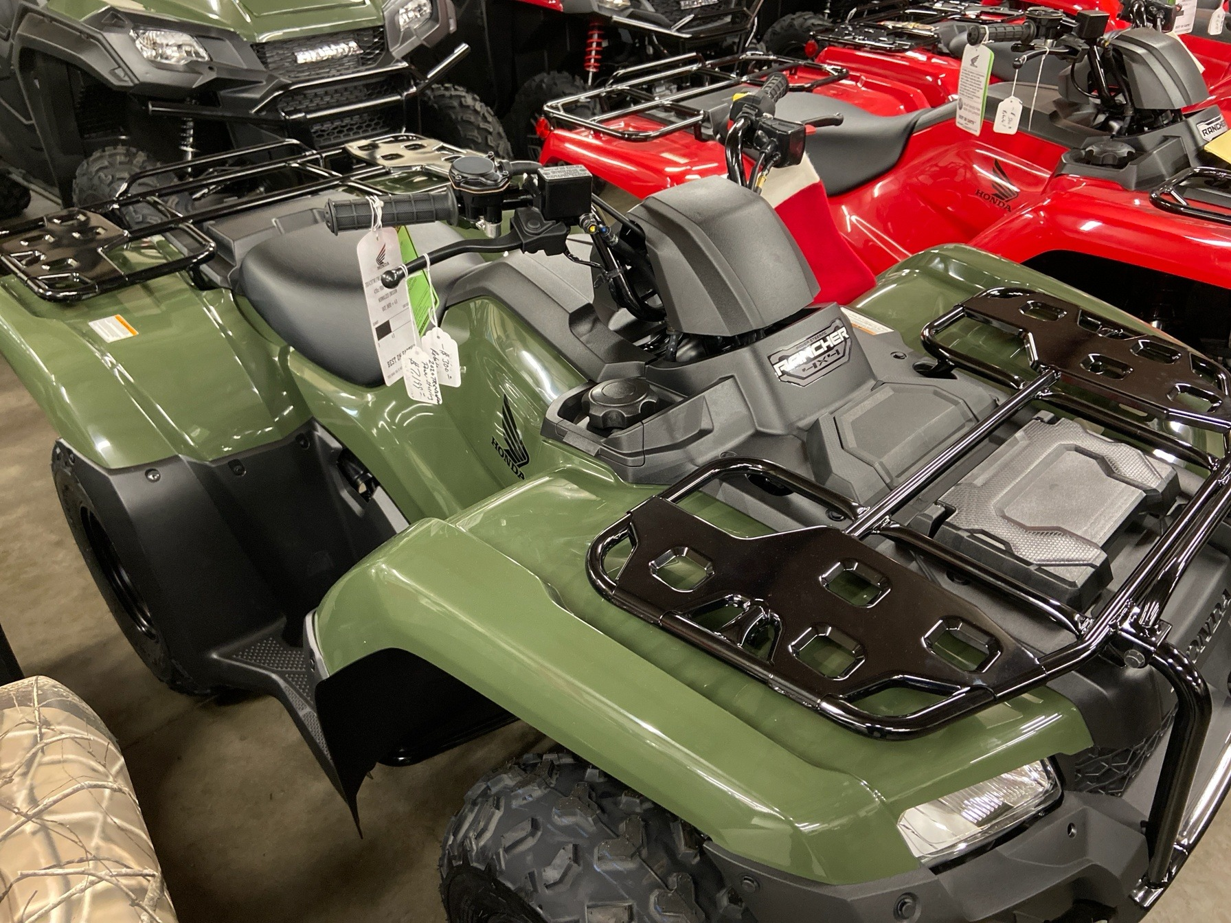 2020 Honda FourTrax Rancher 4x4 EPS in Sanford, North Carolina - Photo 3