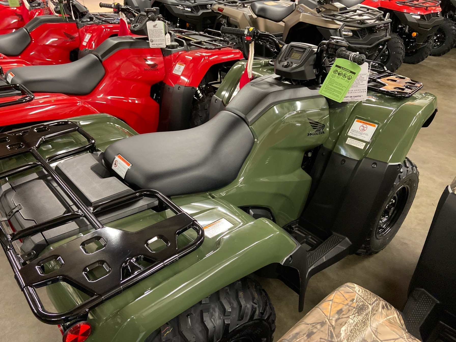 2020 Honda FourTrax Rancher 4x4 EPS in Sanford, North Carolina - Photo 5
