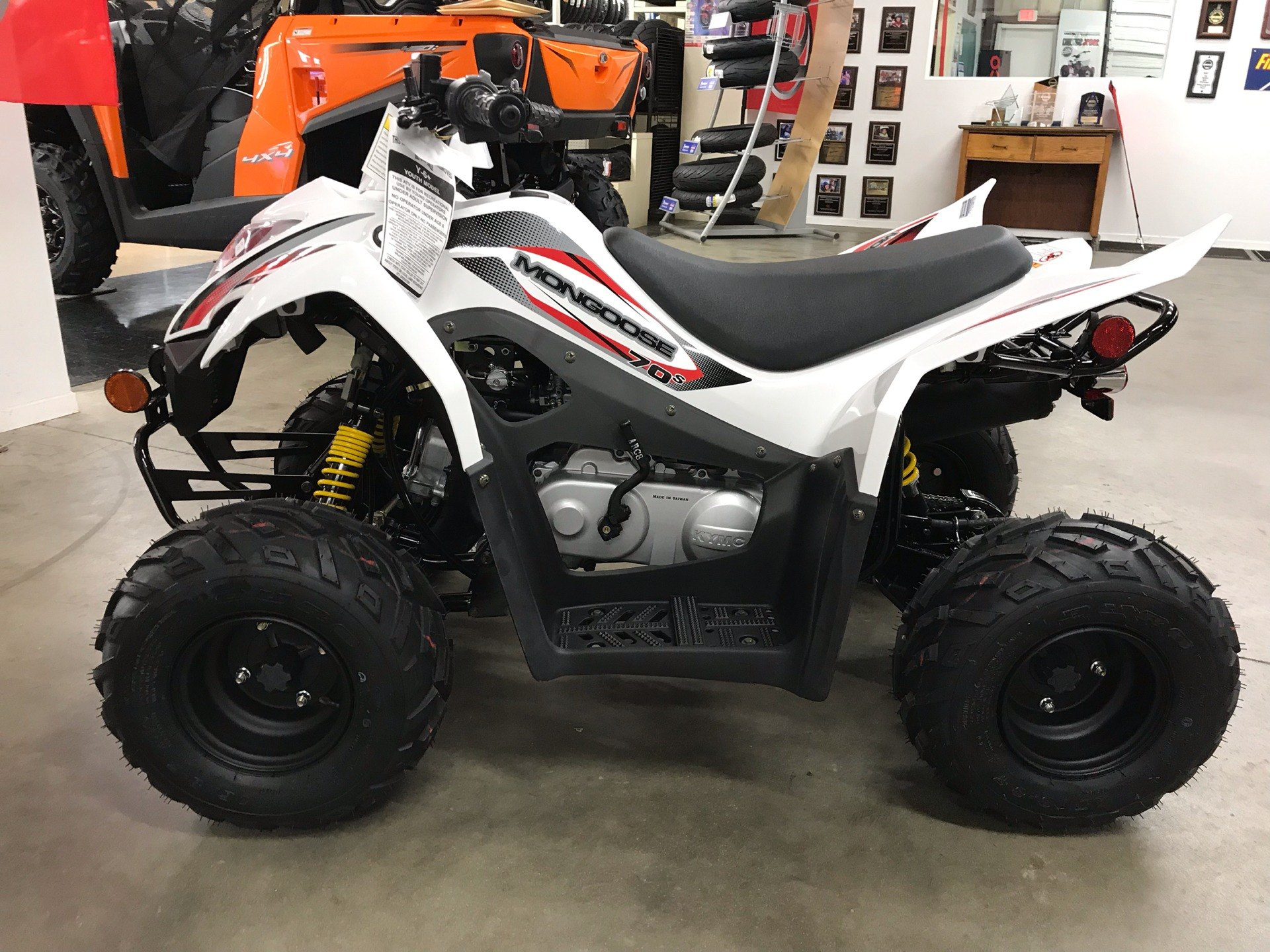 2019 Kymco Mongoose 70s in Sanford, North Carolina - Photo 5