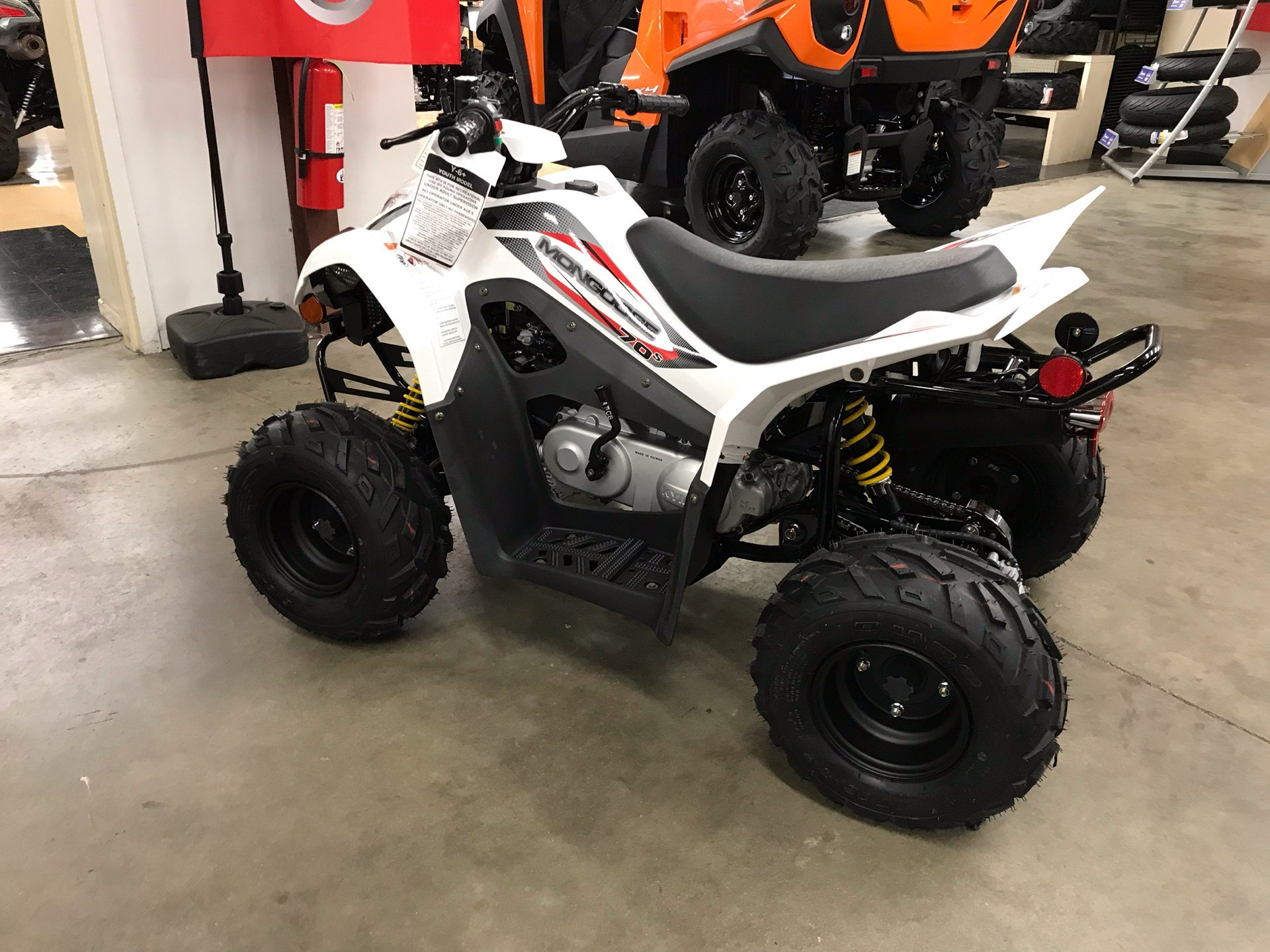 2019 Kymco Mongoose 70s in Sanford, North Carolina - Photo 7