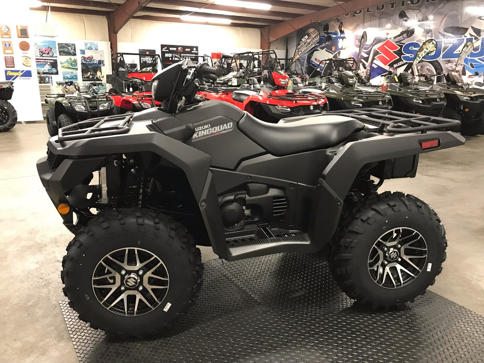 2019 Suzuki KingQuad 750AXi Power Steering SE+ in Sanford, North Carolina - Photo 5