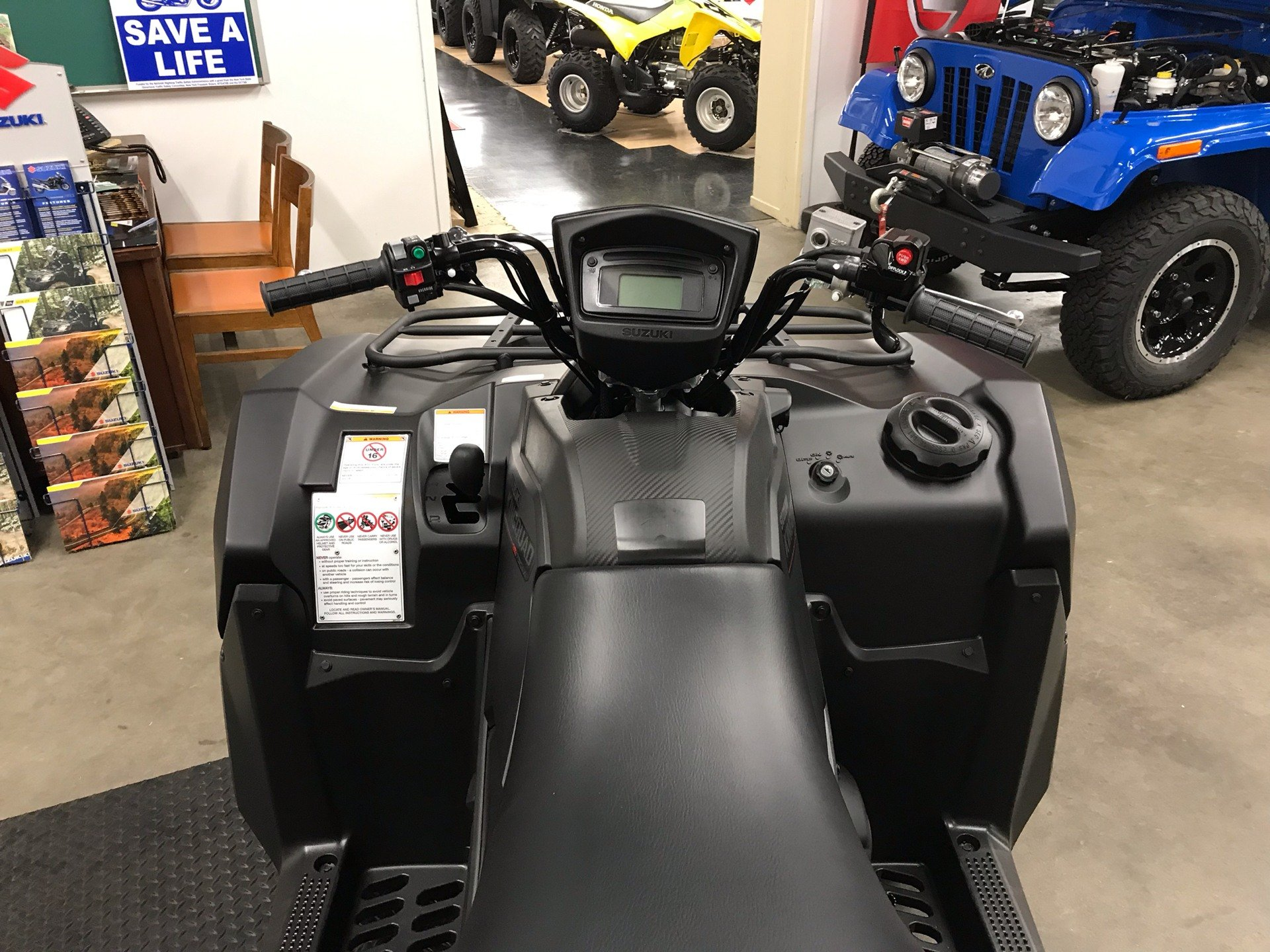 2019 Suzuki KingQuad 750AXi Power Steering SE+ in Sanford, North Carolina - Photo 9