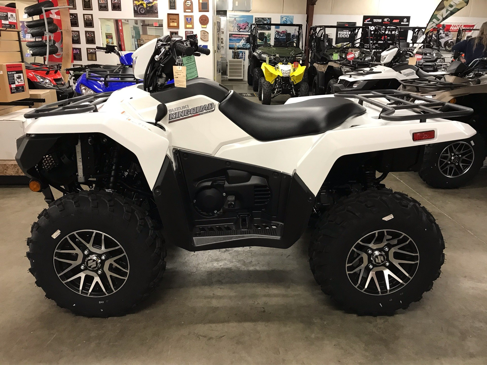 2020 Suzuki KingQuad 750AXi Power Steering SE in Sanford, North Carolina - Photo 2