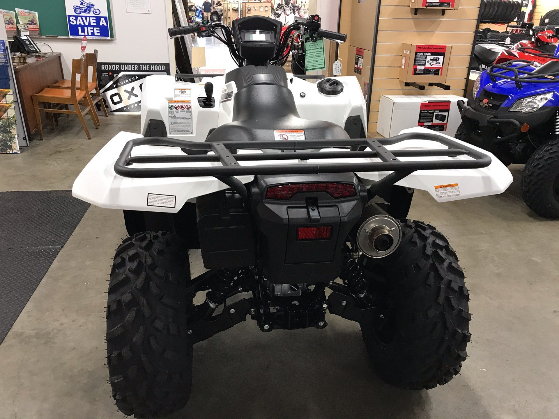 2020 Suzuki KingQuad 750AXi Power Steering SE in Sanford, North Carolina - Photo 4
