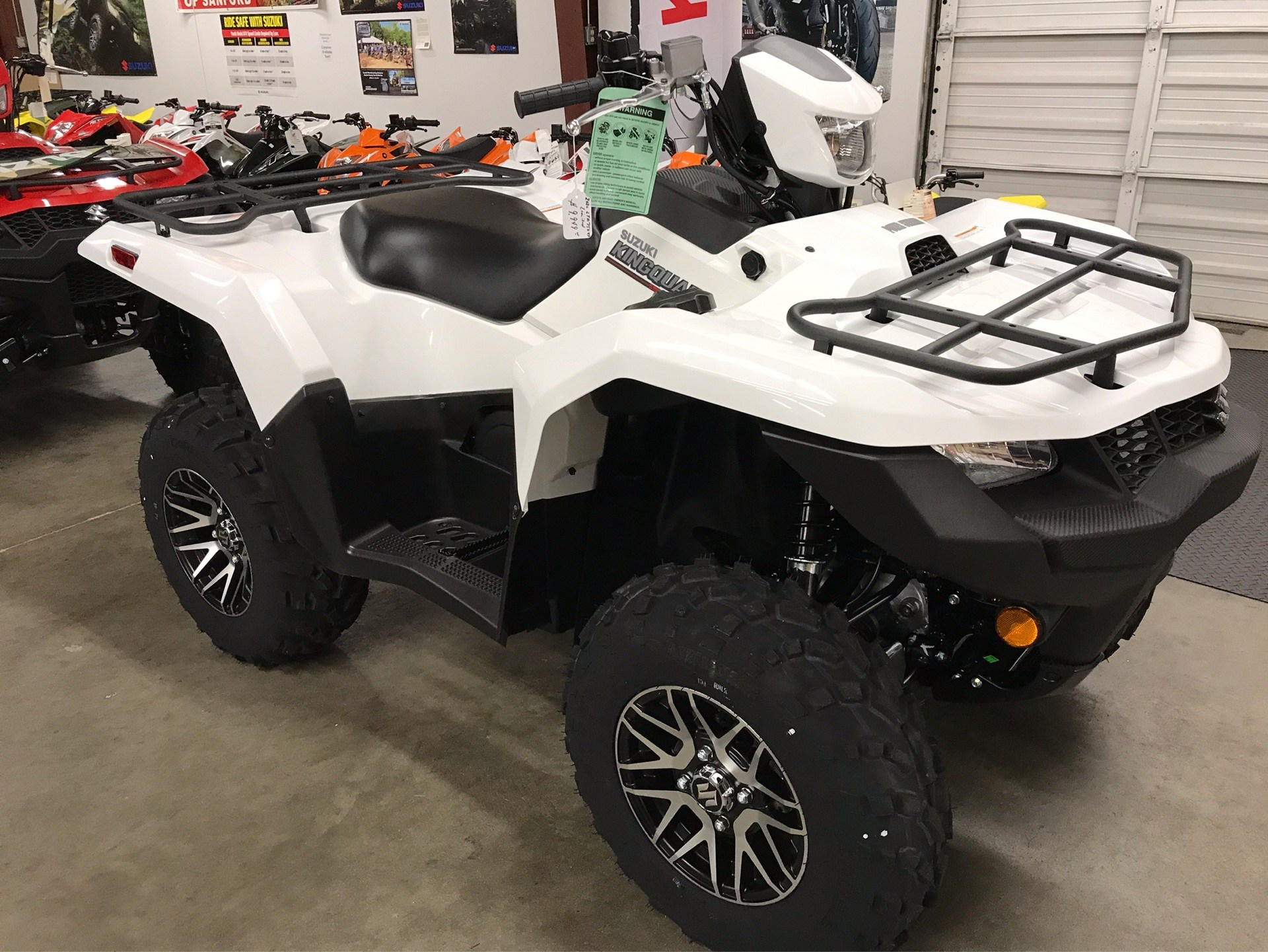 2020 Suzuki KingQuad 750AXi Power Steering SE in Sanford, North Carolina - Photo 8
