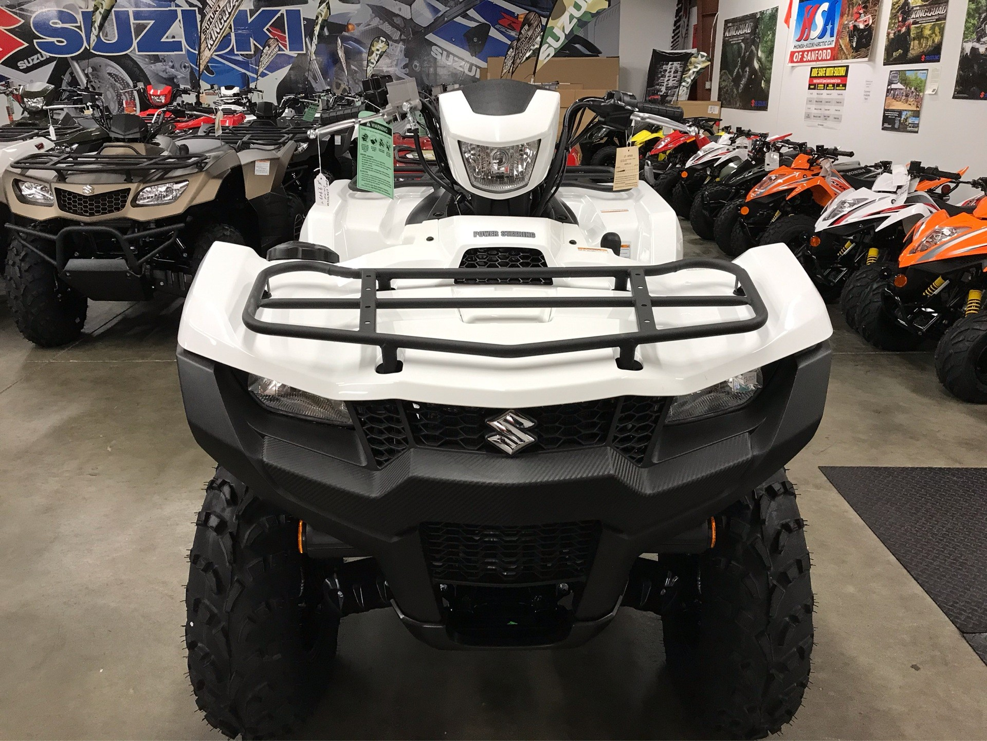 2020 Suzuki KingQuad 750AXi Power Steering SE in Sanford, North Carolina - Photo 9