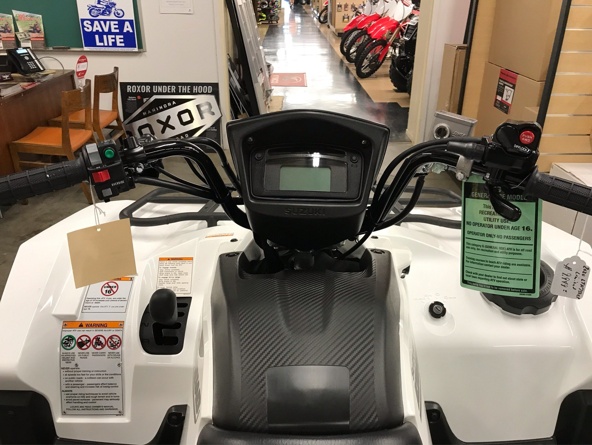 2020 Suzuki KingQuad 750AXi Power Steering SE in Sanford, North Carolina - Photo 10