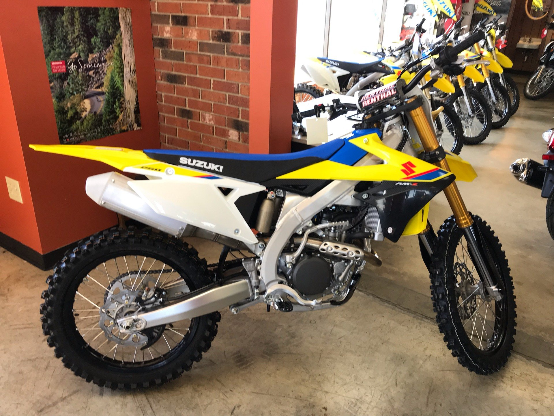 2019 Suzuki RM-Z250 in Sanford, North Carolina - Photo 1
