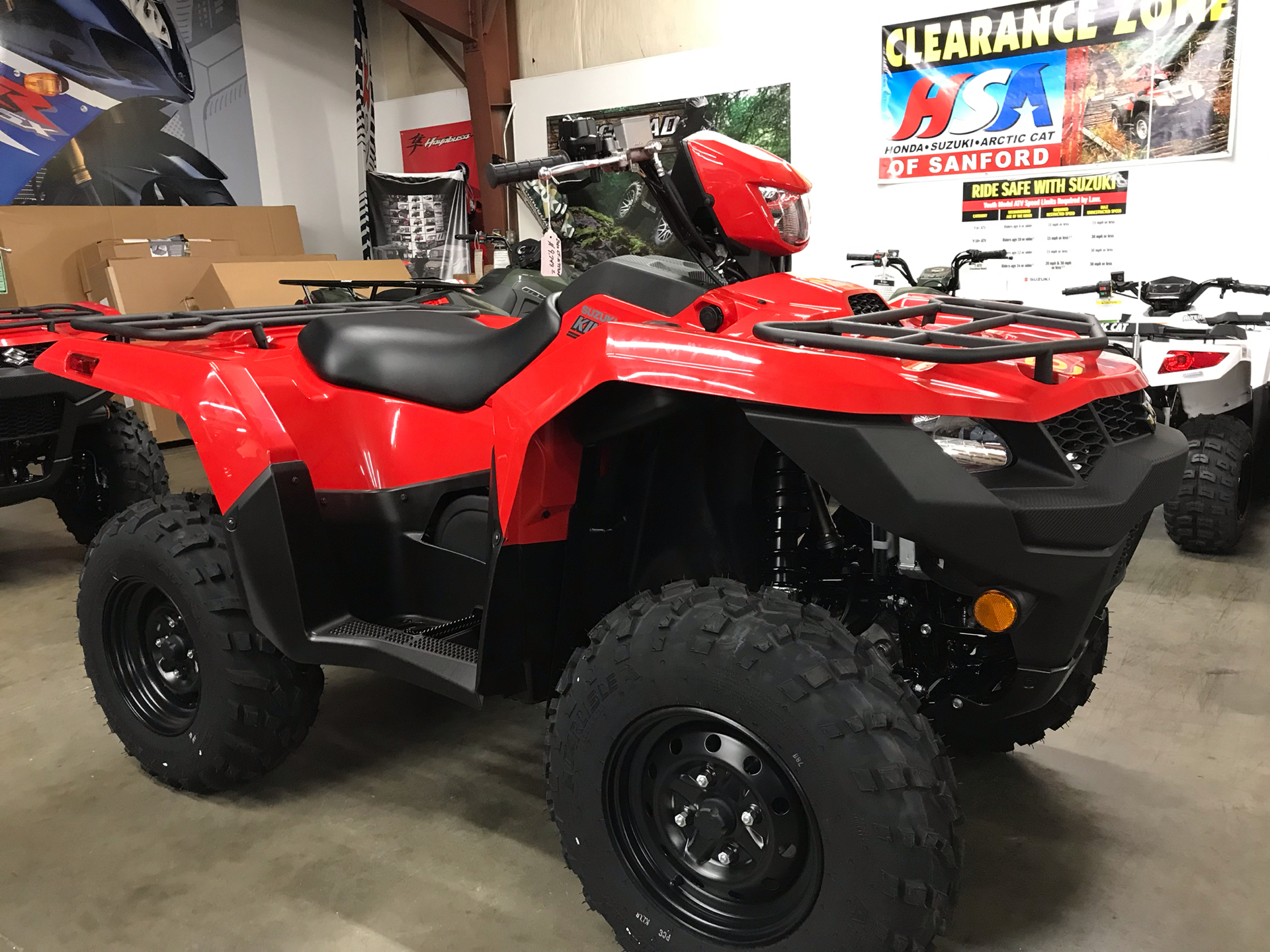 2020 Suzuki KingQuad 750AXi Power Steering in Sanford, North Carolina - Photo 2