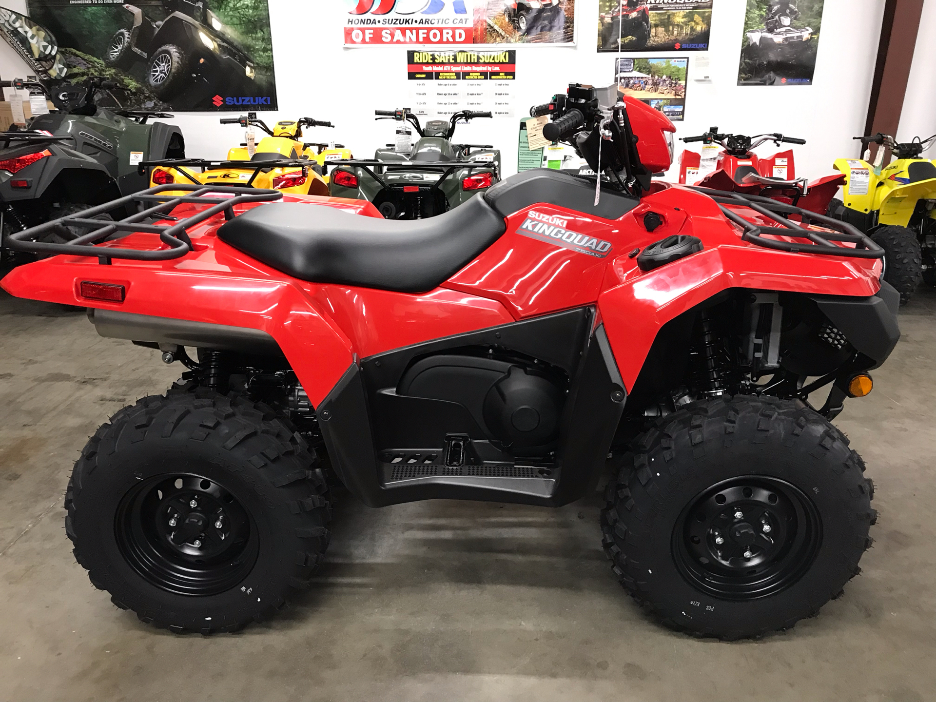 2020 Suzuki KingQuad 750AXi Power Steering in Sanford, North Carolina - Photo 3