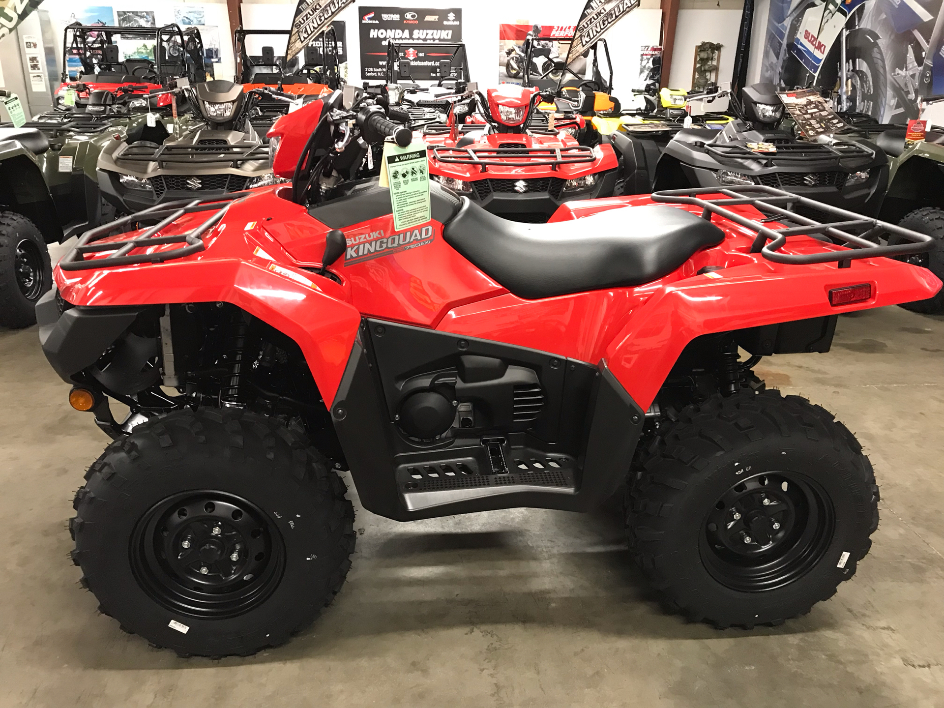 2020 Suzuki KingQuad 750AXi Power Steering in Sanford, North Carolina - Photo 8