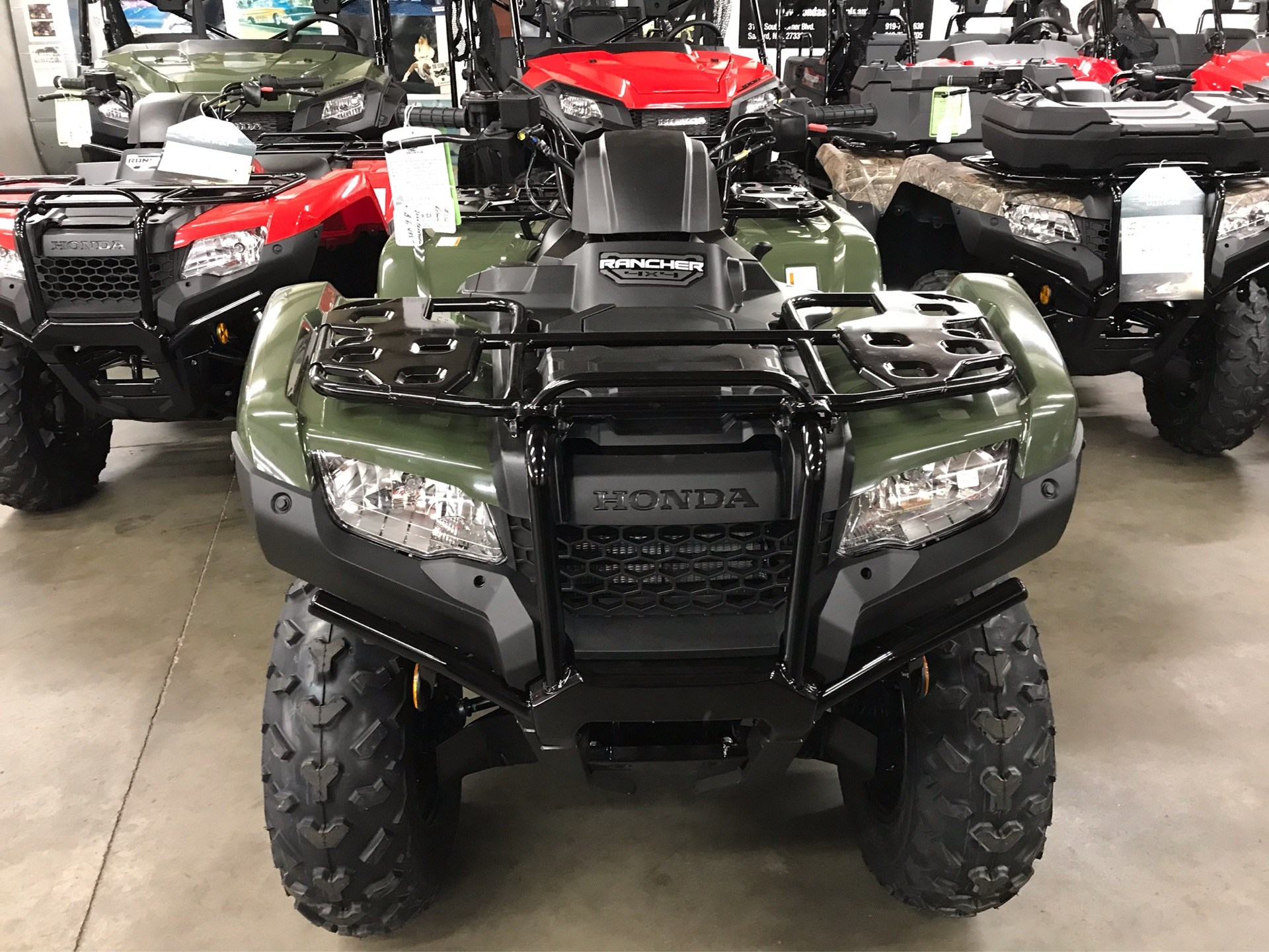 2020 Honda FourTrax Rancher 4x4 in Sanford, North Carolina - Photo 3