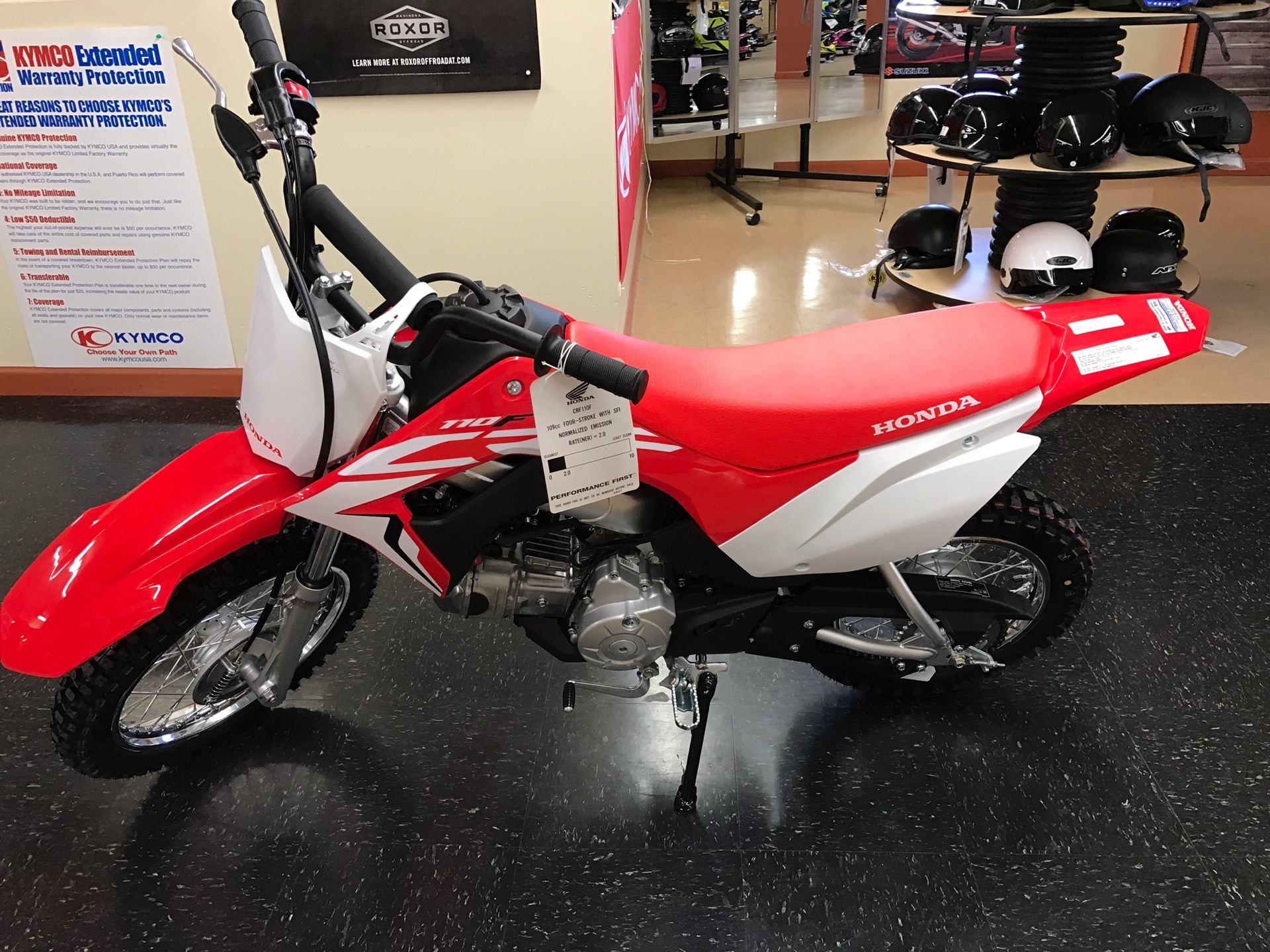 2020 Honda CRF110F in Sanford, North Carolina - Photo 6