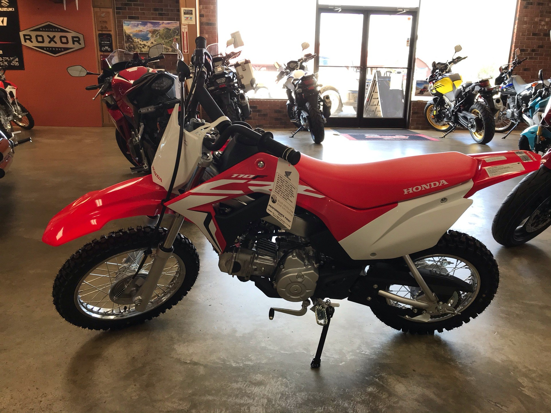 2021 Honda CRF110F in Sanford, North Carolina - Photo 4