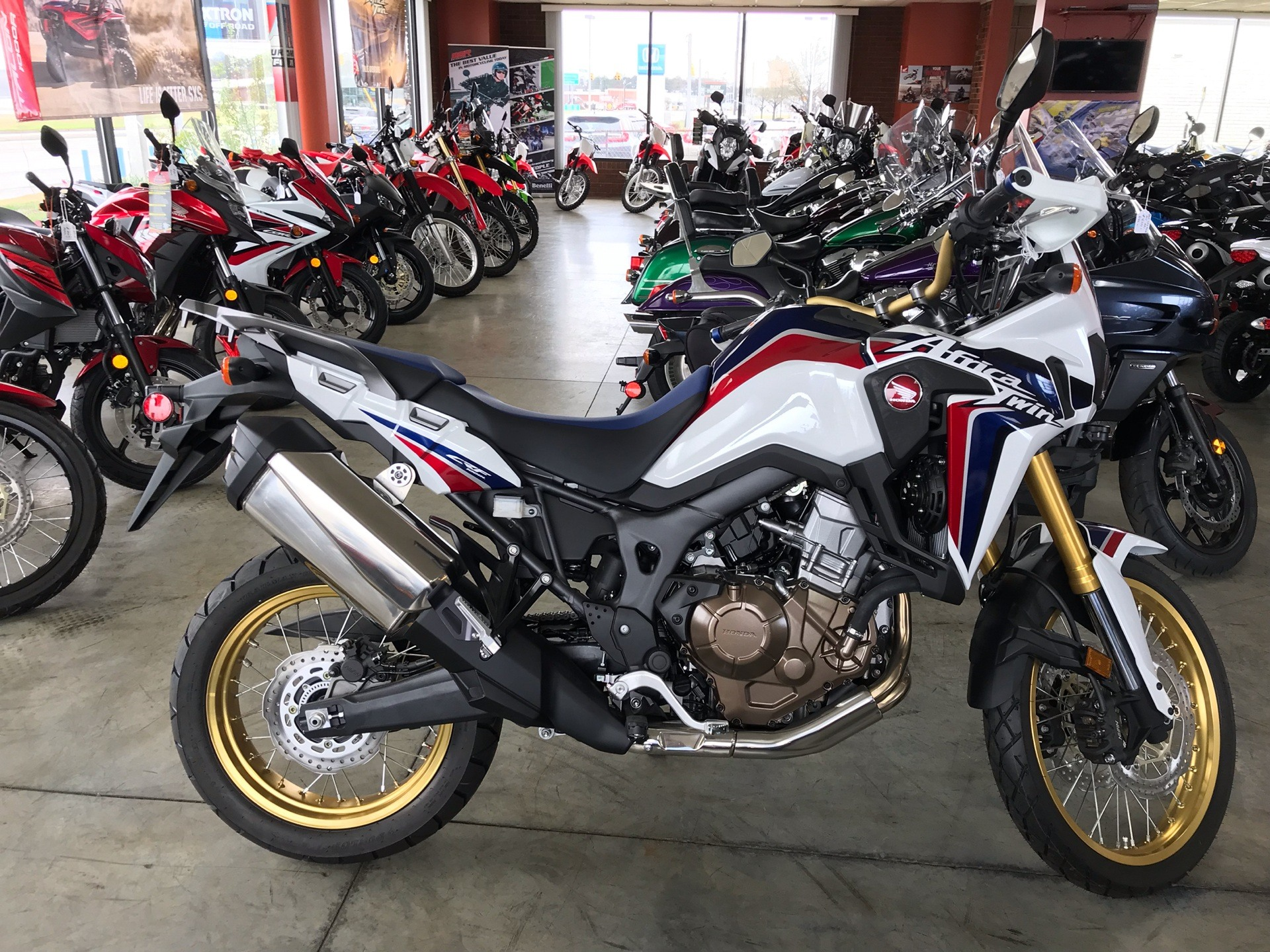 2017 Honda Africa Twin in Sanford, North Carolina