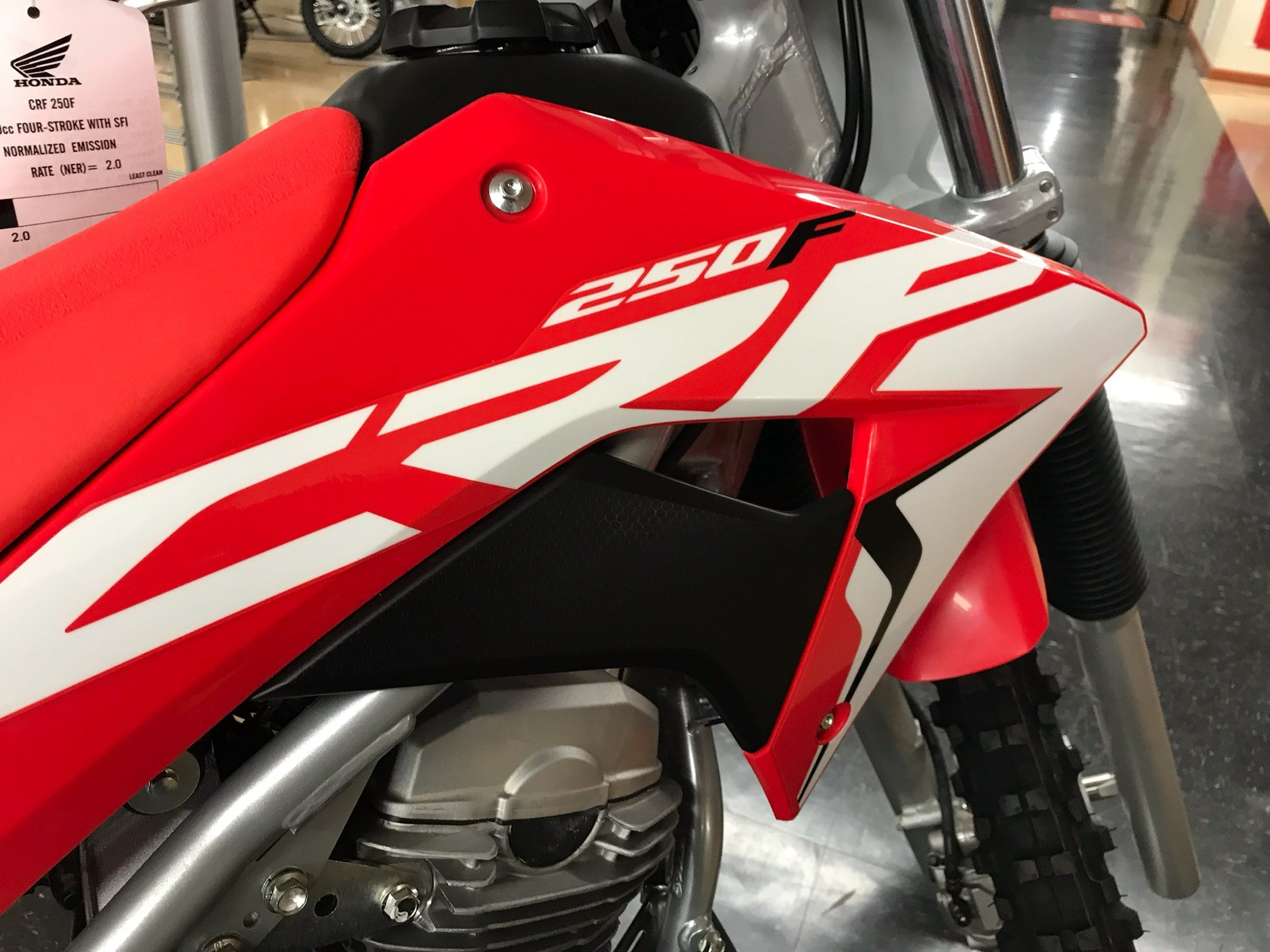 2020 Honda CRF250F in Sanford, North Carolina - Photo 10
