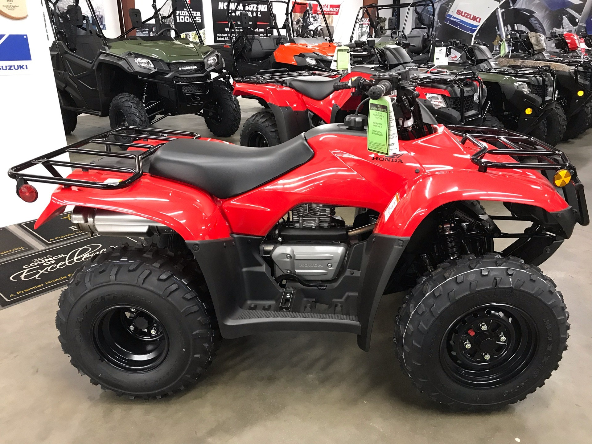 2019 Honda FourTrax Recon in Sanford, North Carolina - Photo 6