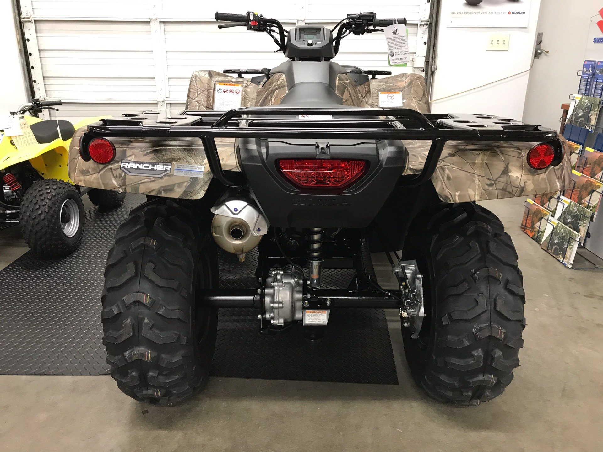 2020 Honda FourTrax Rancher 4x4 in Sanford, North Carolina - Photo 9