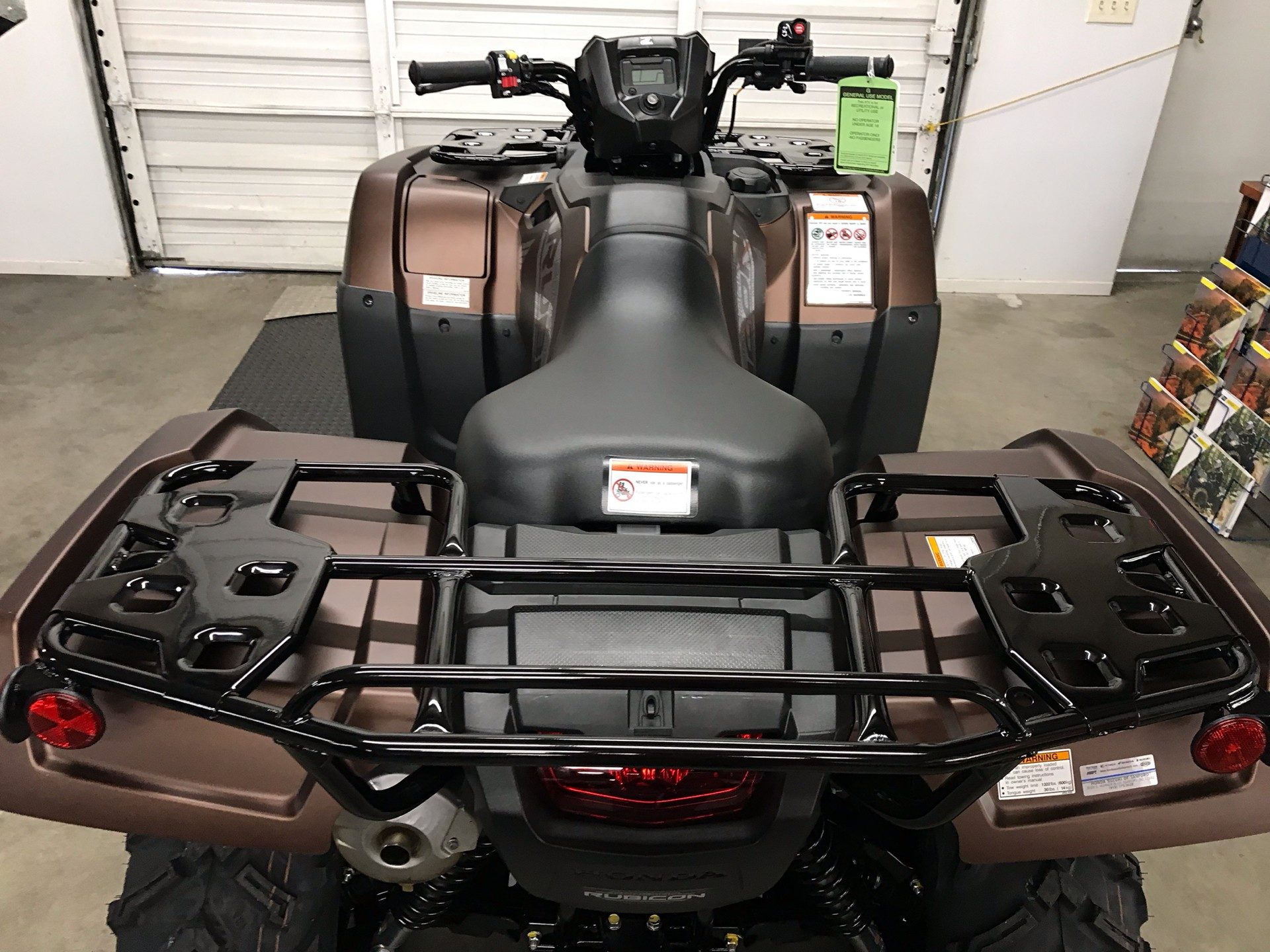 2020 Honda FourTrax Foreman Rubicon 4x4 EPS in Sanford, North Carolina - Photo 10