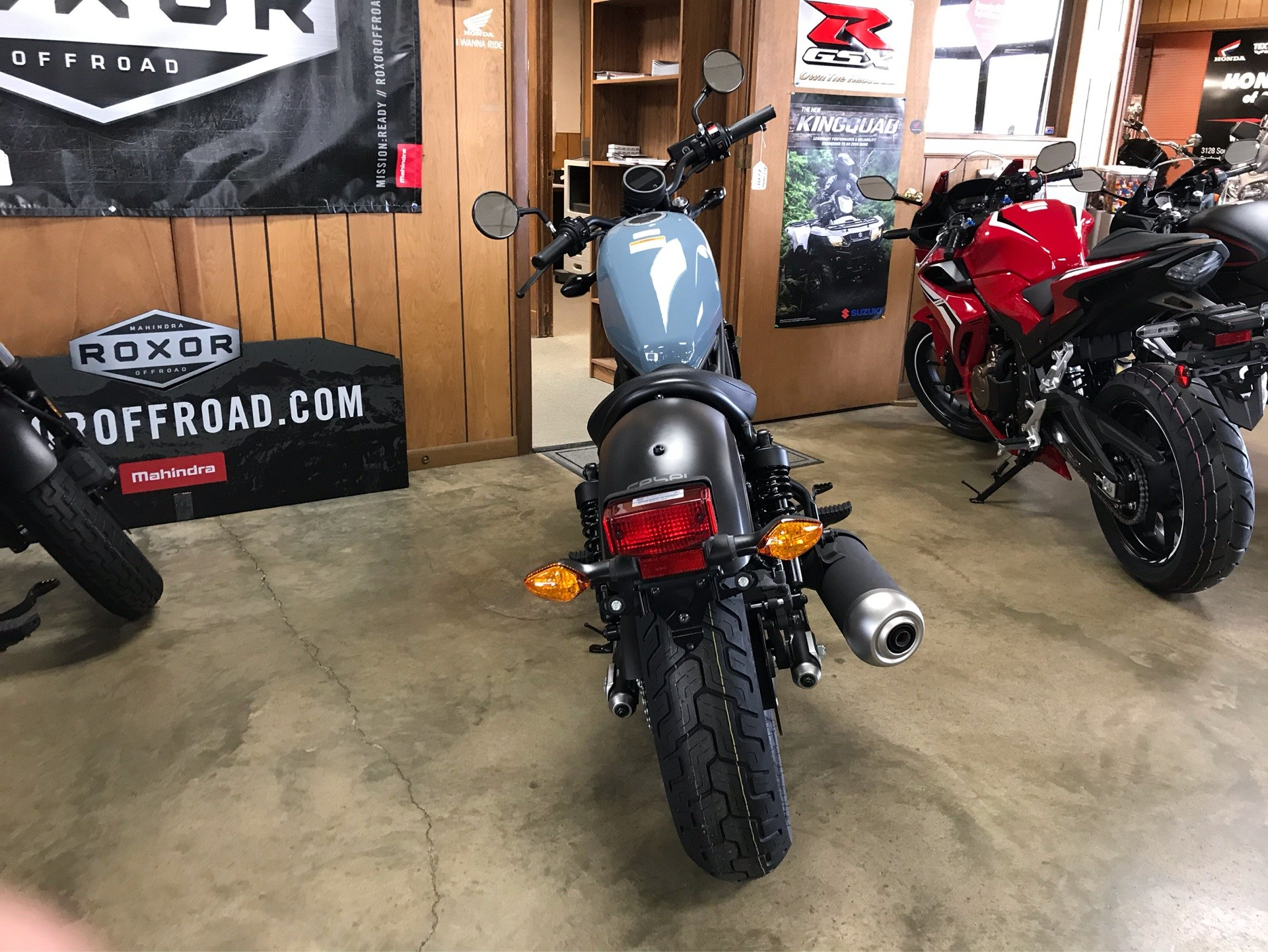 2019 Honda Rebel 300 6