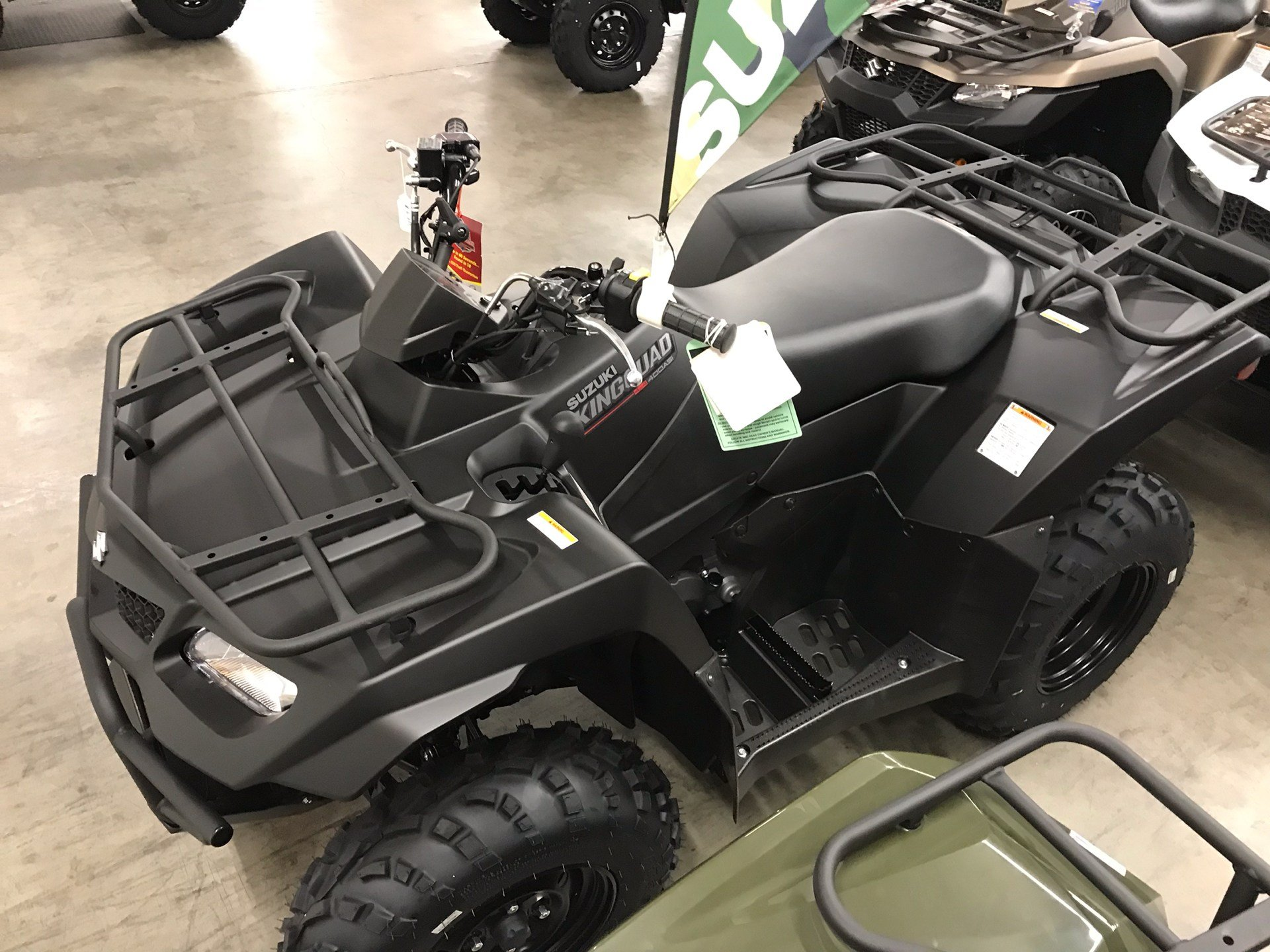 2019 Suzuki KingQuad 400ASi+ in Sanford, North Carolina - Photo 6