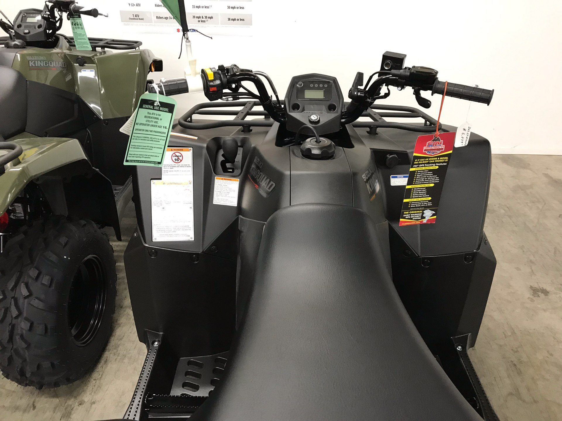 2019 Suzuki KingQuad 400ASi+ in Sanford, North Carolina - Photo 9