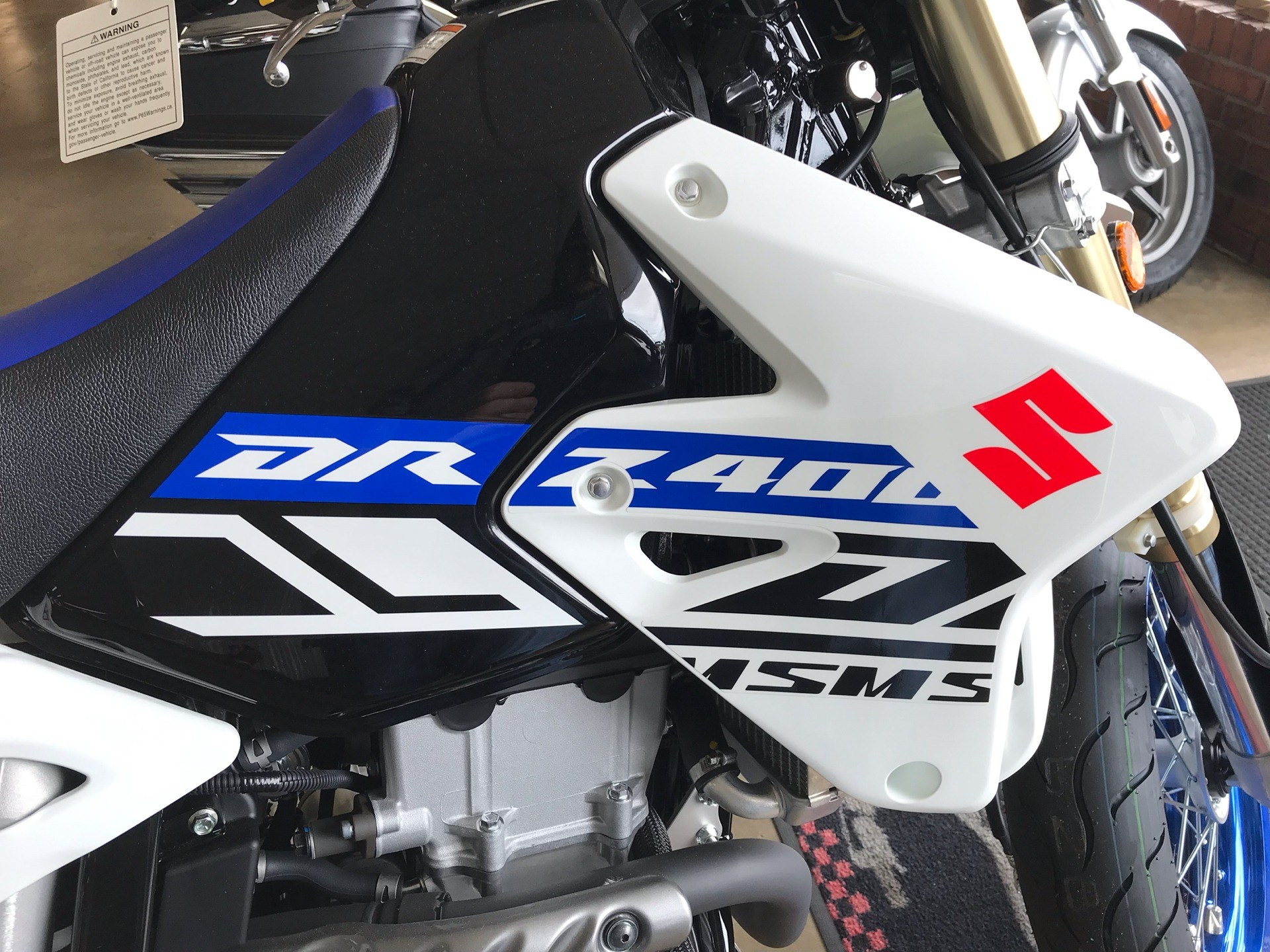 2019 Suzuki DR-Z400SM in Sanford, North Carolina - Photo 10