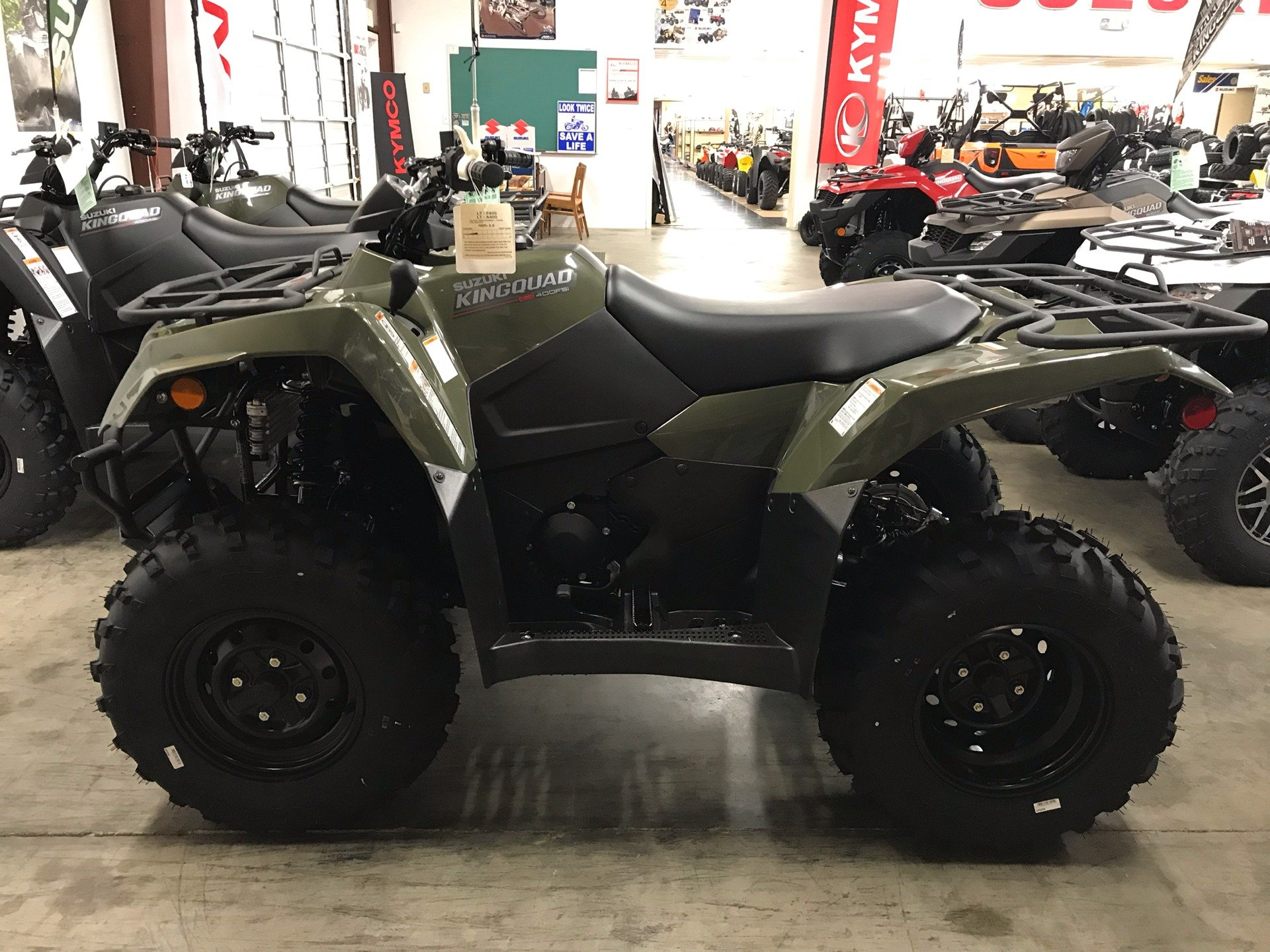 2019 Suzuki KingQuad 400FSi in Sanford, North Carolina - Photo 1