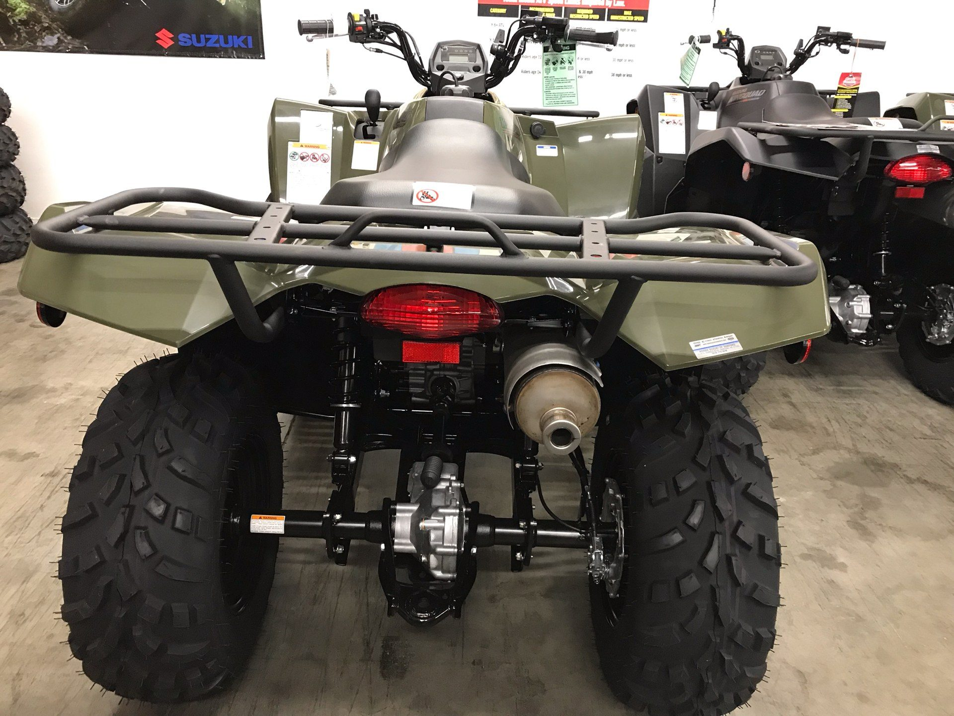 2019 Suzuki KingQuad 400FSi in Sanford, North Carolina - Photo 5