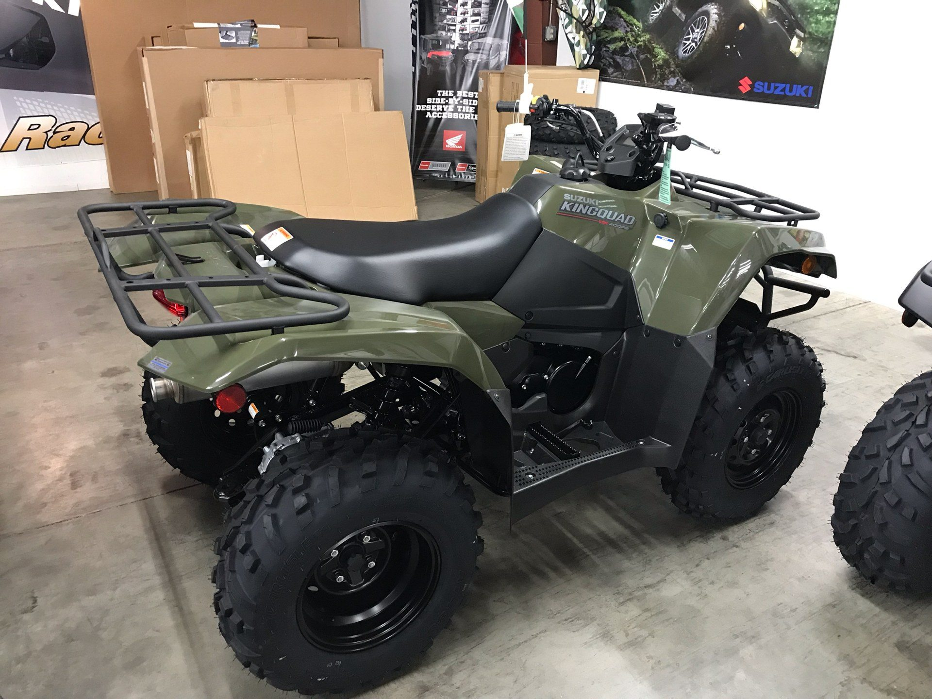 2019 Suzuki KingQuad 400FSi in Sanford, North Carolina - Photo 6