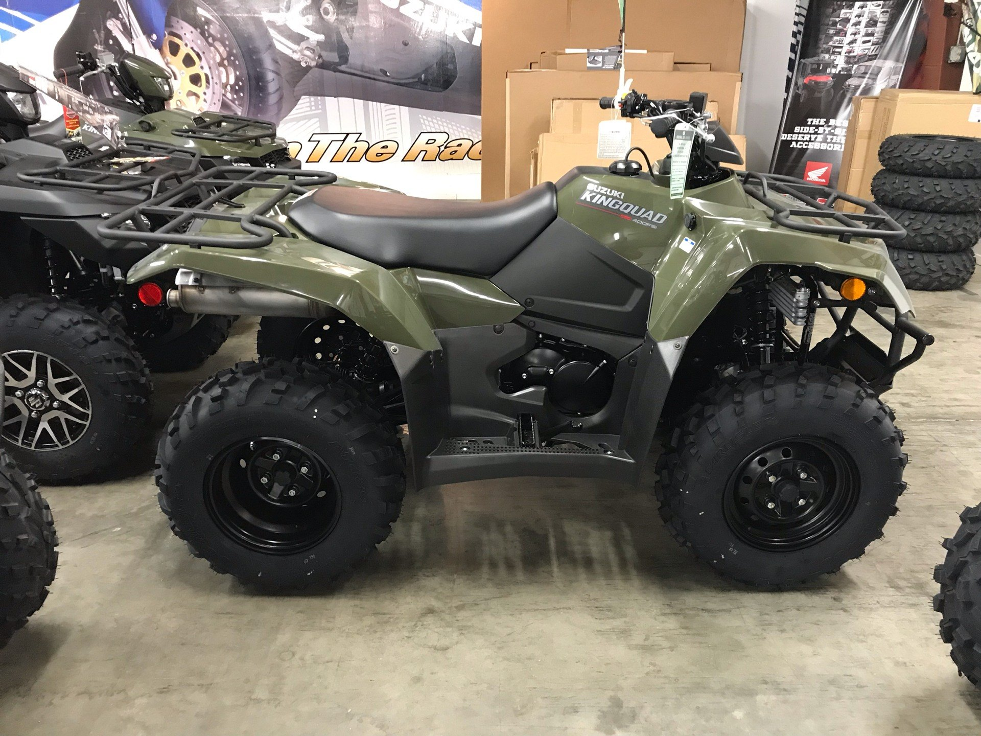 2019 Suzuki KingQuad 400FSi in Sanford, North Carolina - Photo 7