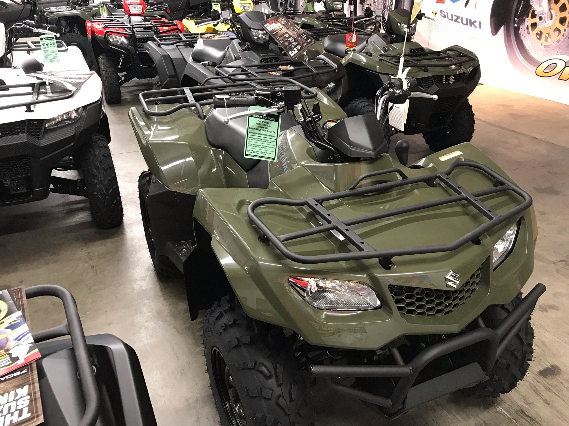 2019 Suzuki KingQuad 400FSi in Sanford, North Carolina - Photo 8