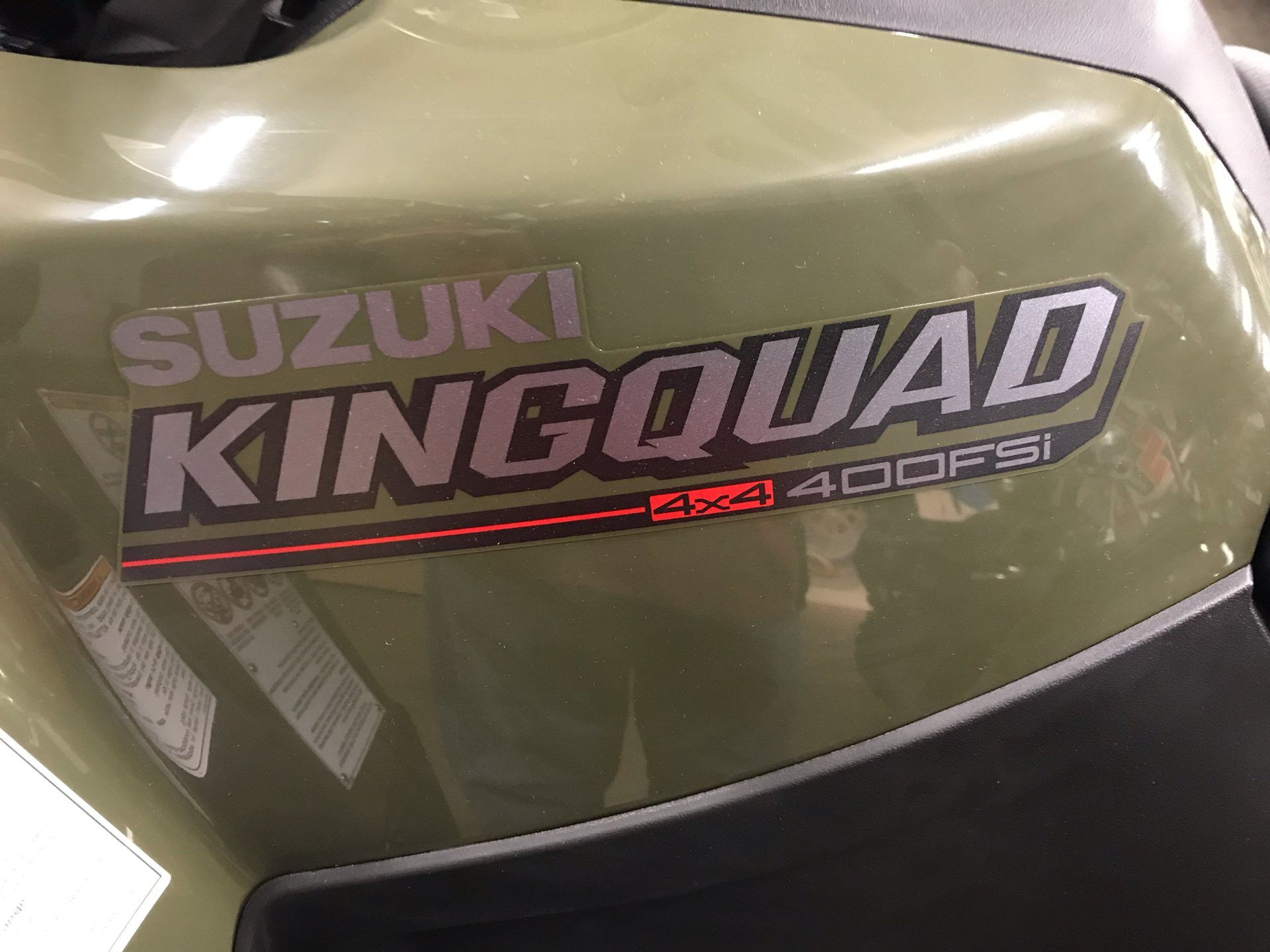 2019 Suzuki KingQuad 400FSi in Sanford, North Carolina - Photo 10
