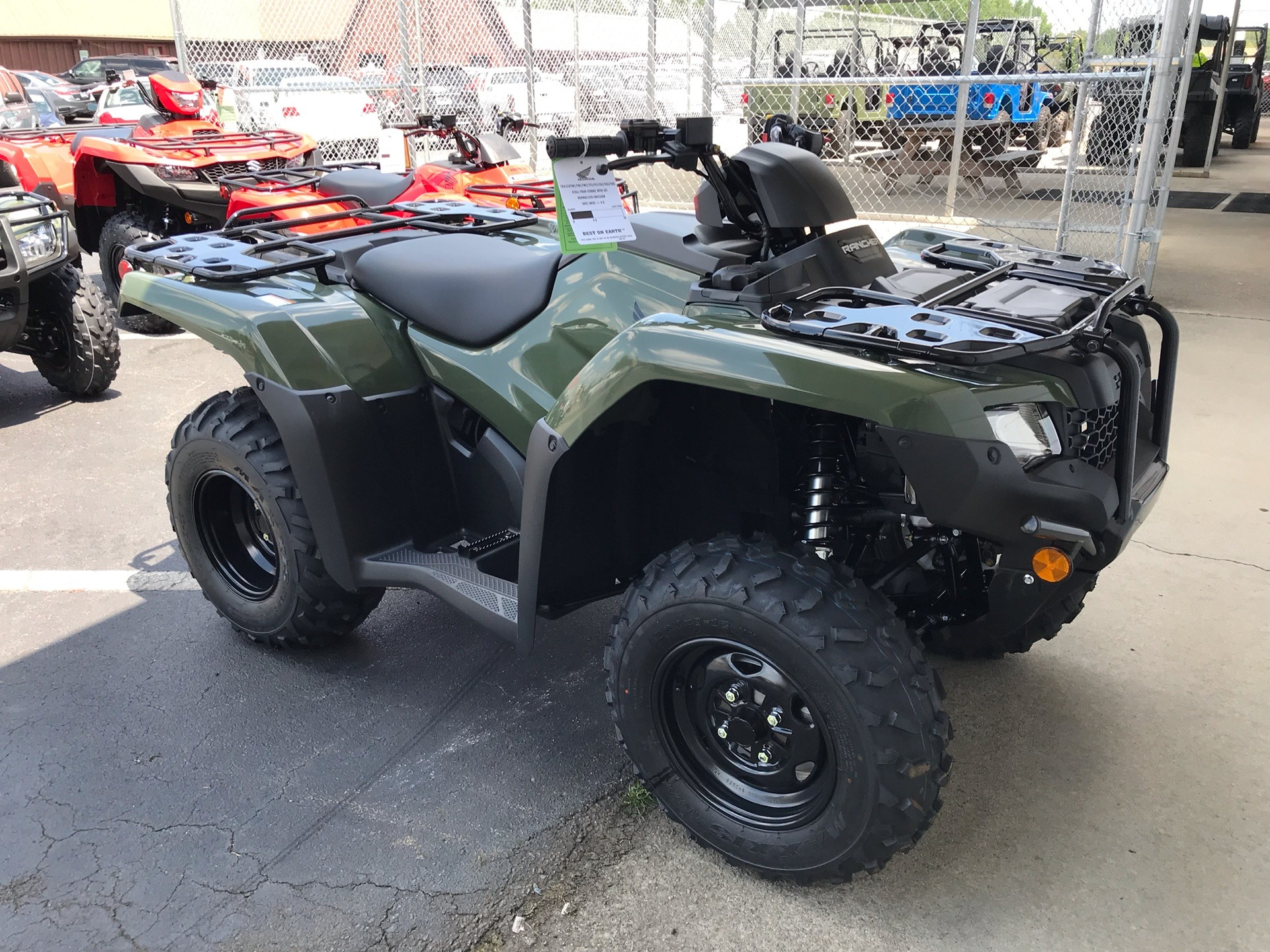 2020 Honda FourTrax Rancher in Sanford, North Carolina - Photo 8