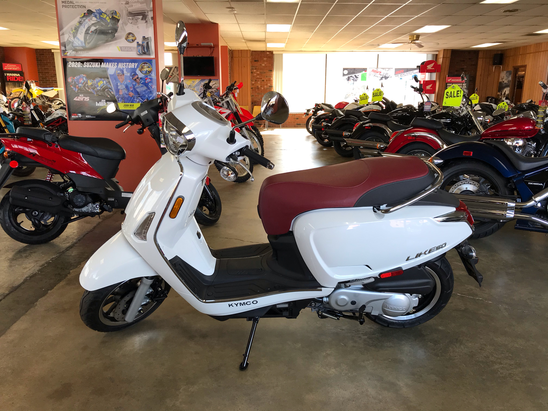 2019 Kymco Like 50i in Sanford, North Carolina - Photo 4