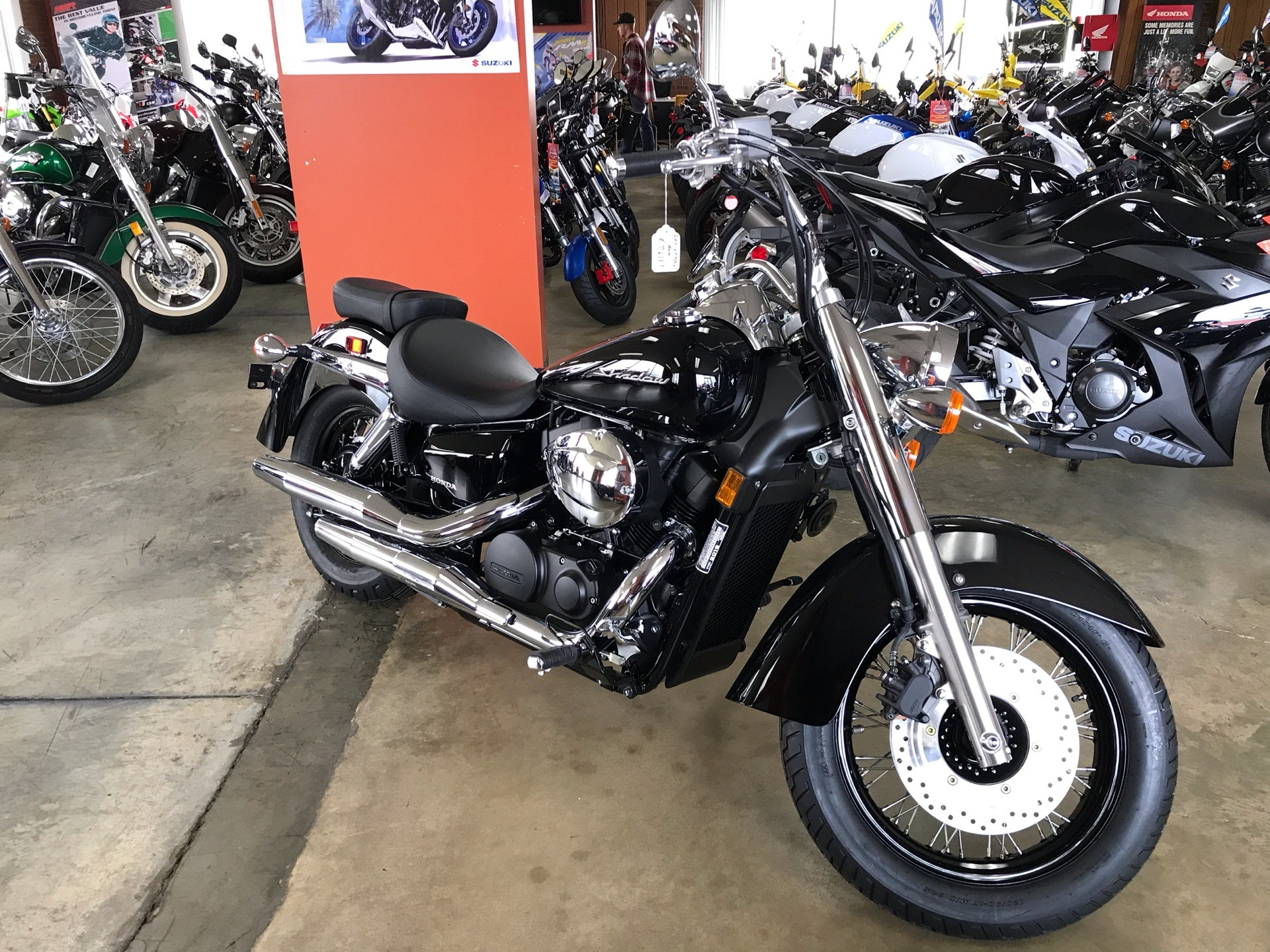 2019 Honda Shadow Aero 750 in Sanford, North Carolina - Photo 7