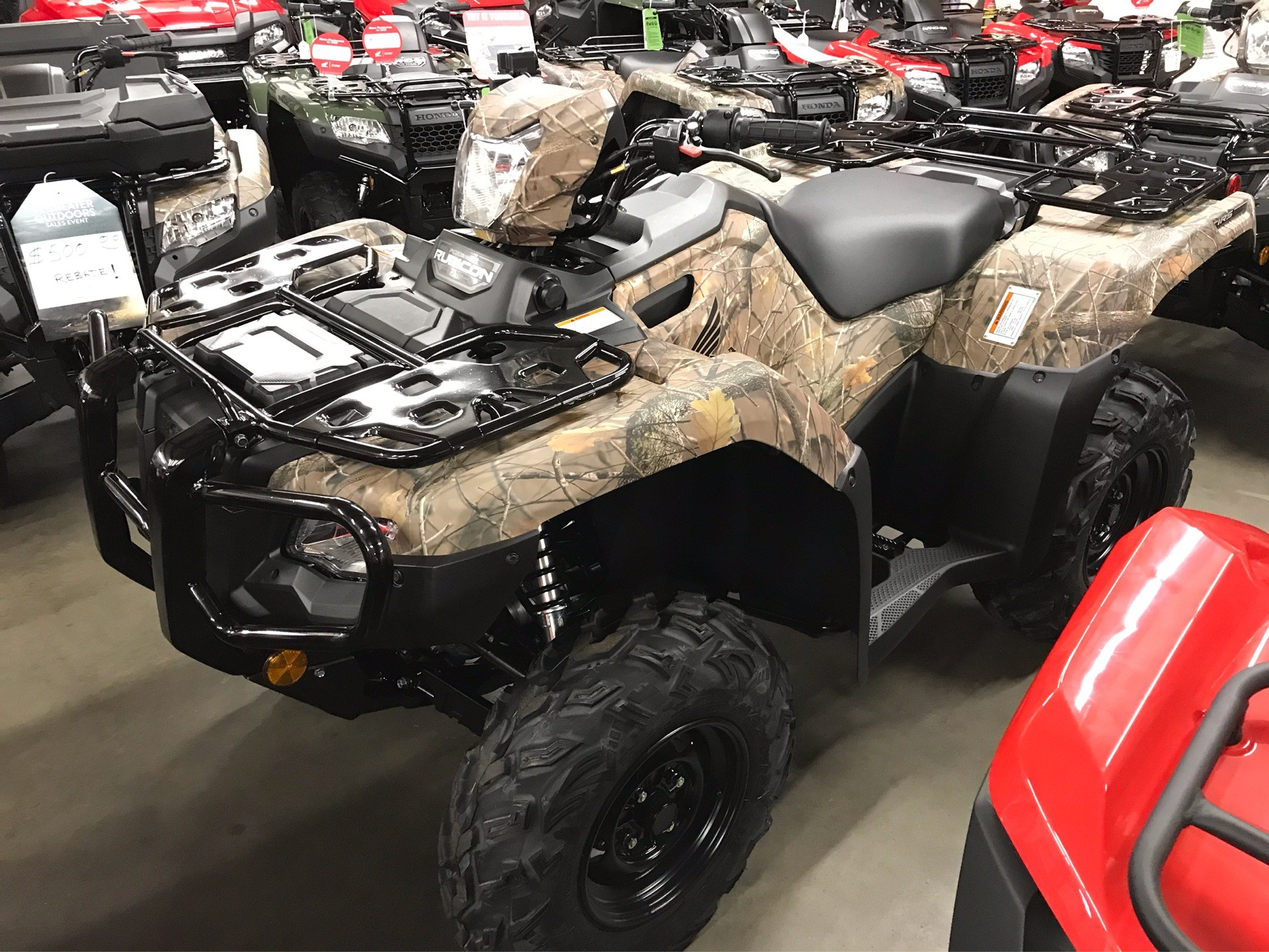 2020 Honda FourTrax Foreman Rubicon 4x4 EPS in Sanford, North Carolina - Photo 5