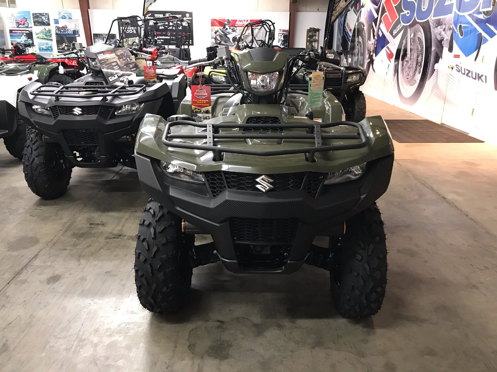 2019 Suzuki KingQuad 750AXi in Sanford, North Carolina - Photo 5