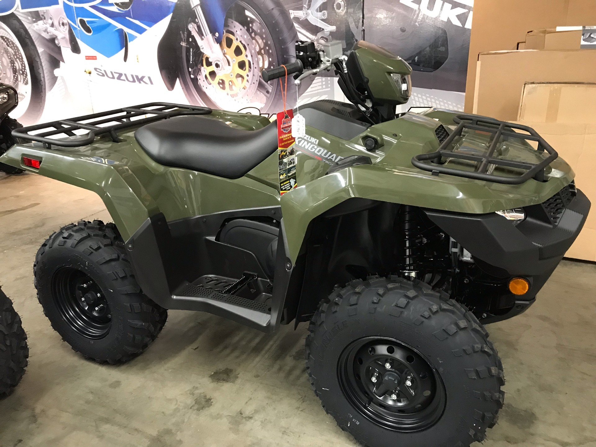 2019 Suzuki KingQuad 750AXi in Sanford, North Carolina - Photo 6