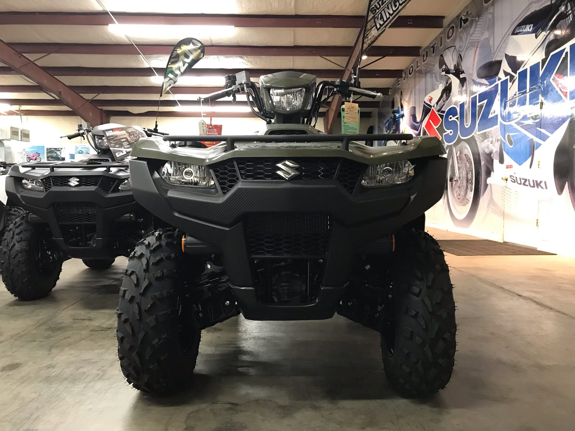 2019 Suzuki KingQuad 750AXi in Sanford, North Carolina - Photo 8