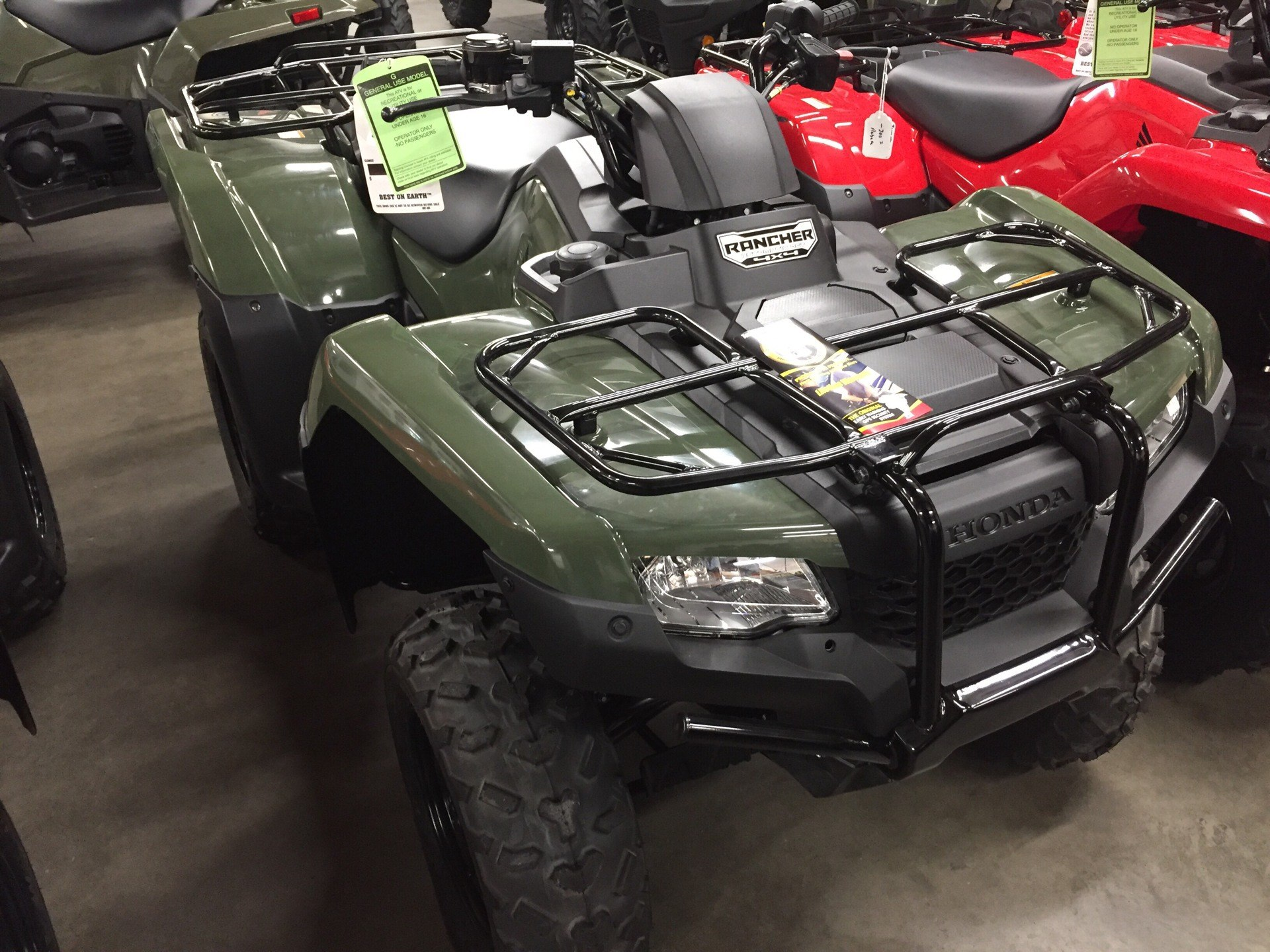 2017 Honda FourTrax Rancher 4x4 DCT IRS in Sanford, North Carolina - Photo 1