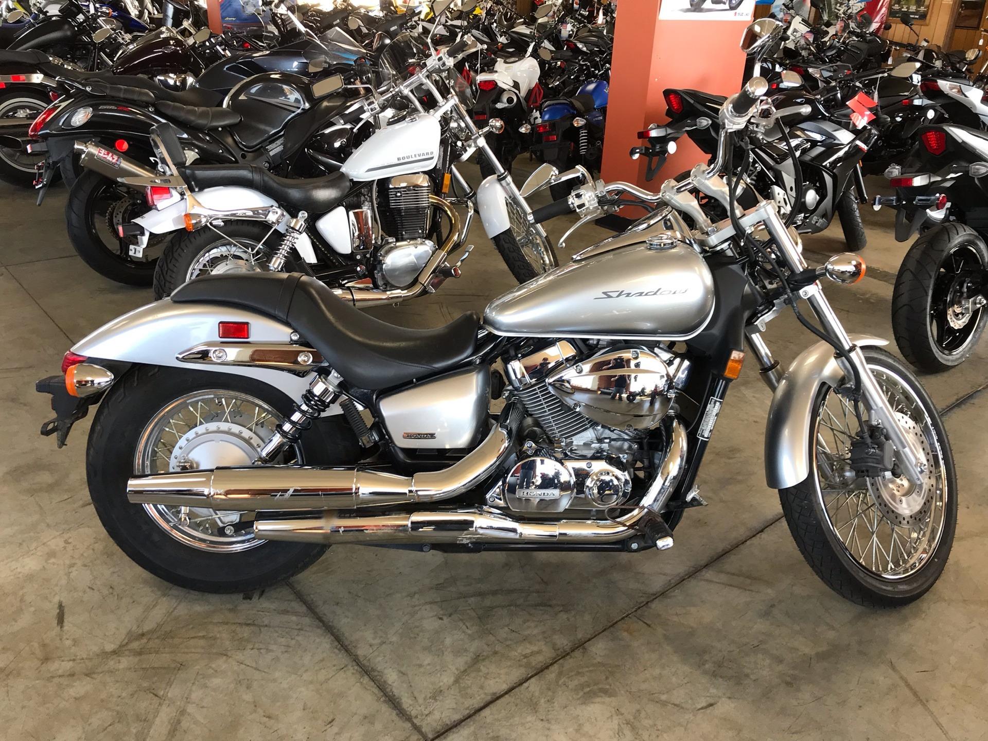 Used 2008 Honda Shadow Spirit 750 Metallic Silver Motorcycles In