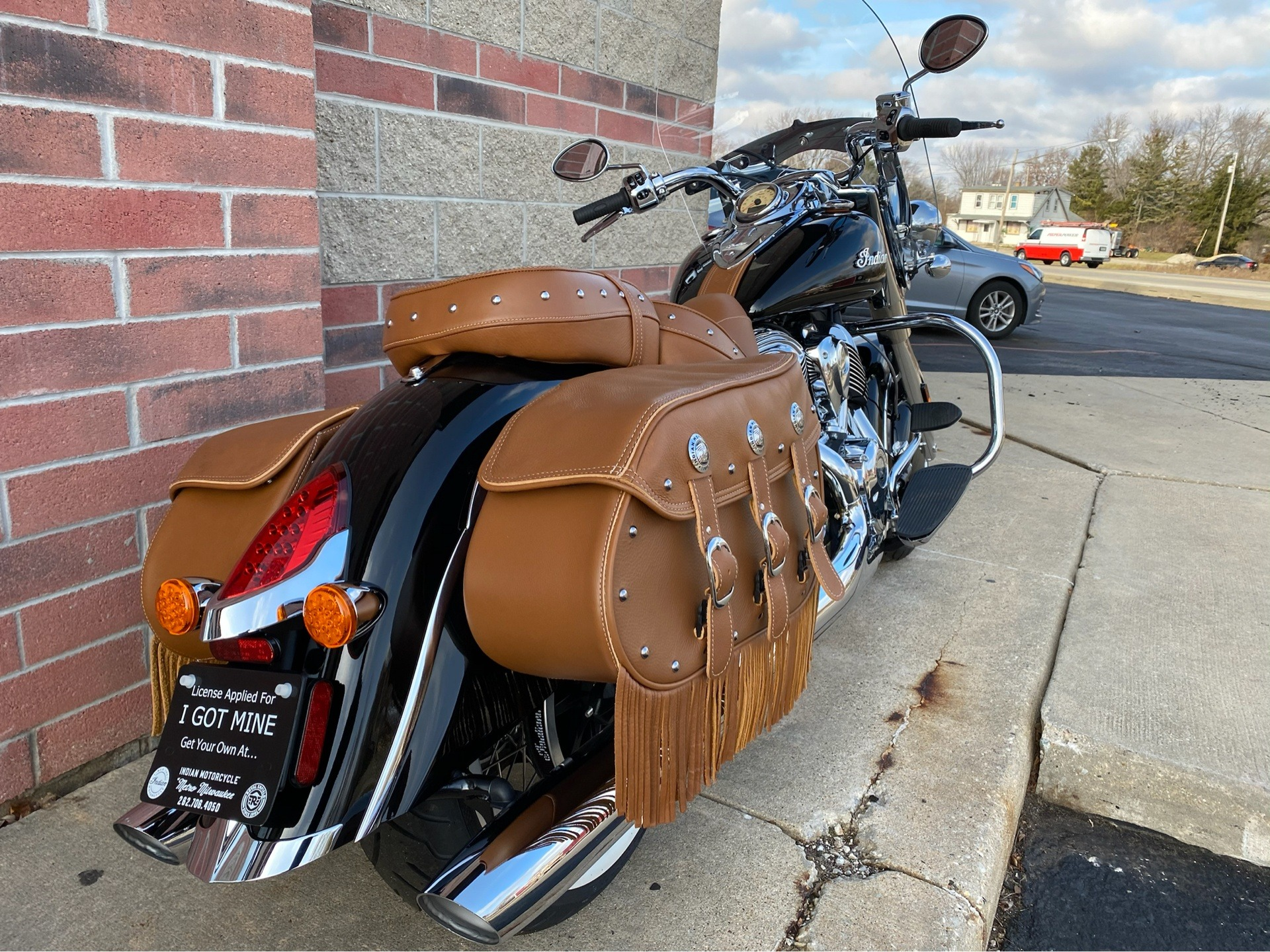 2019 Indian Chief® Vintage ABS in Muskego, Wisconsin - Photo 8