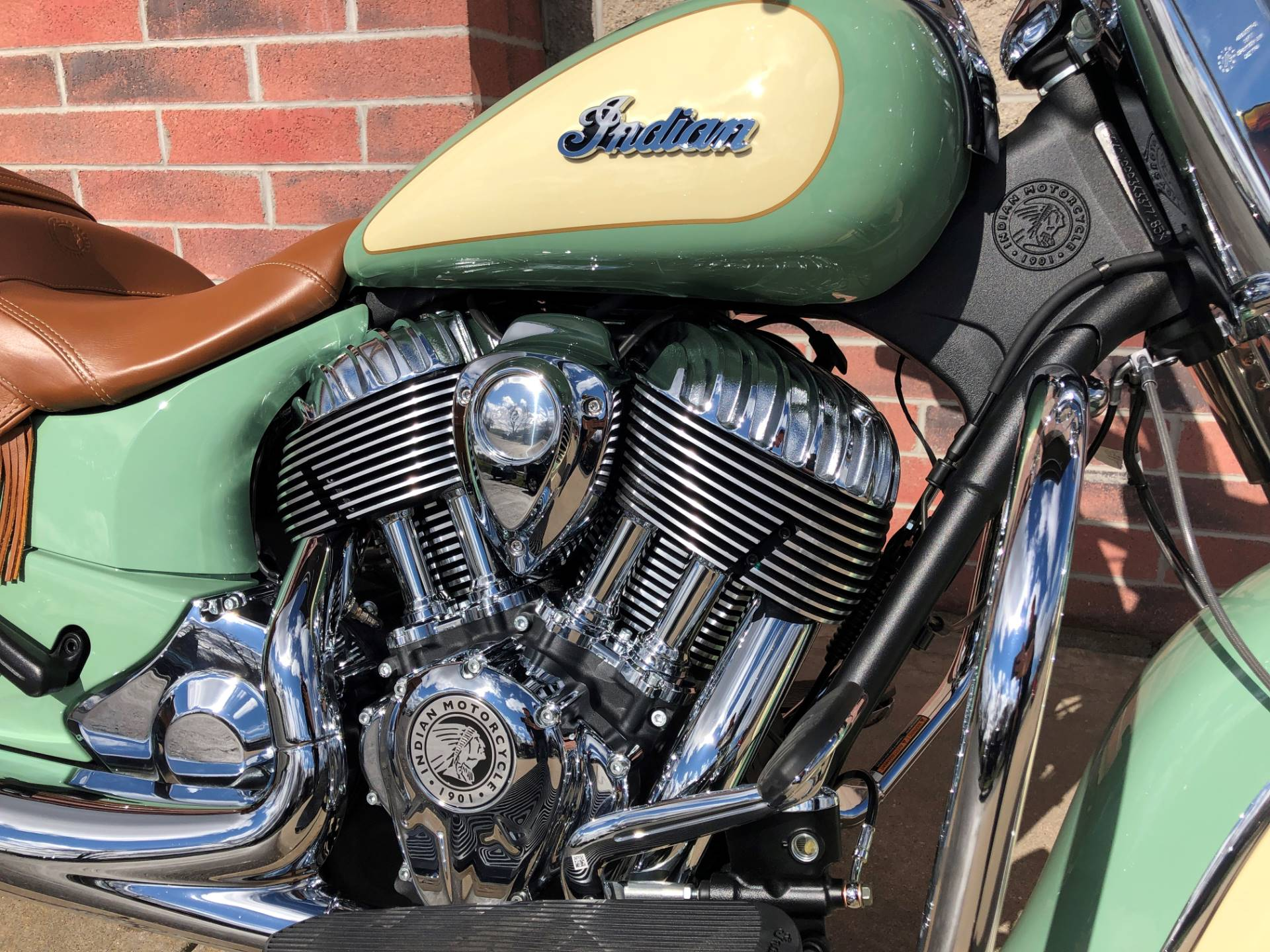 2019 Indian Chief® Vintage ABS in Muskego, Wisconsin - Photo 5