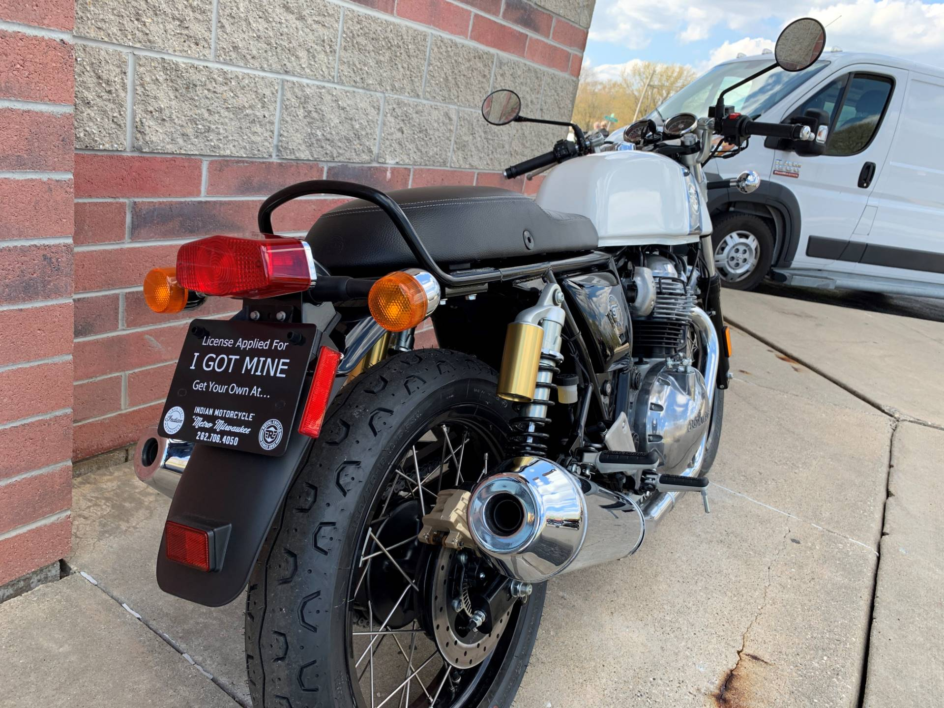 2019 Royal Enfield Continental GT 650 in Muskego, Wisconsin - Photo 9